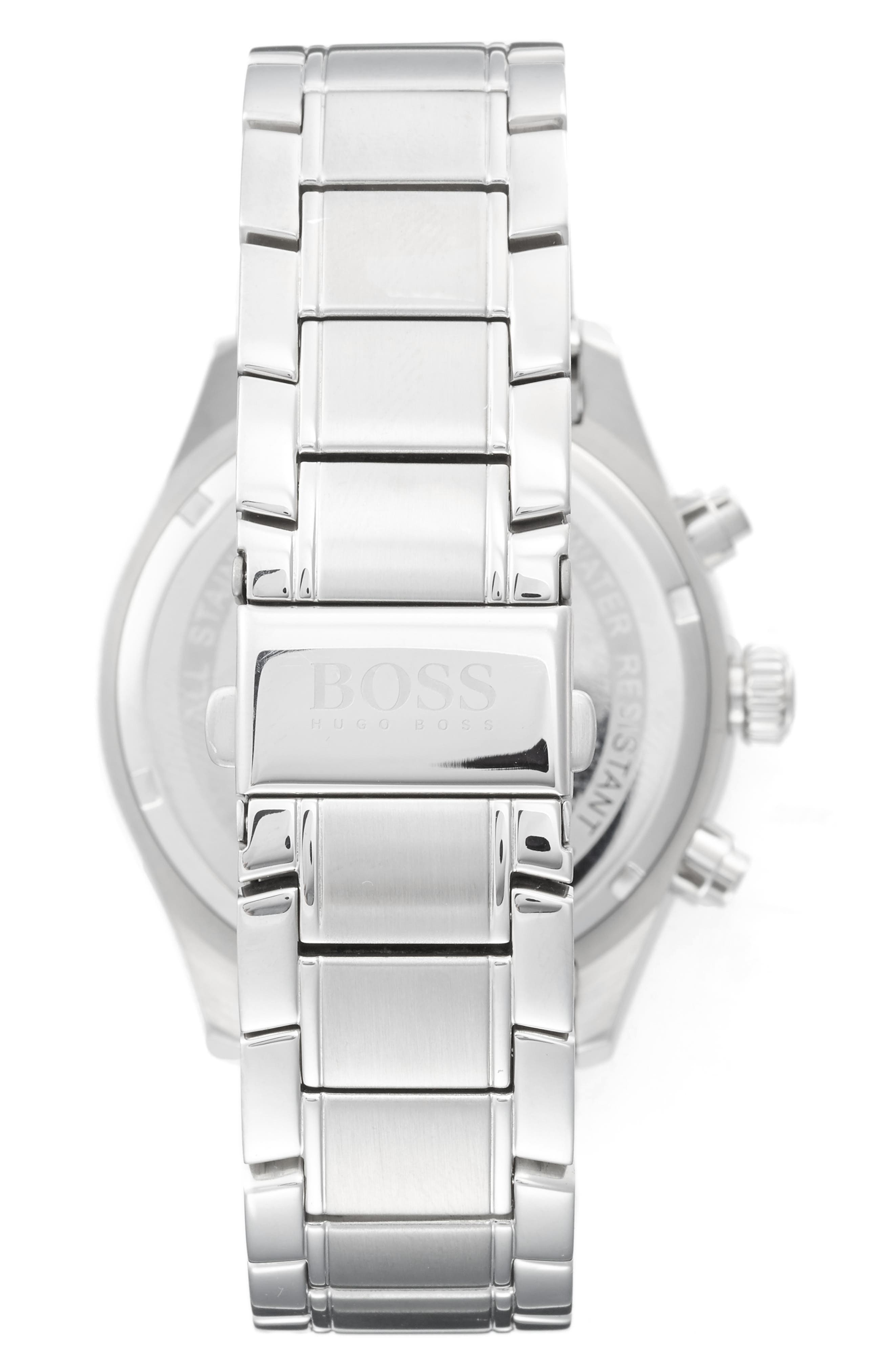 Alternate Image 2  - BOSS Grand Prix Chronograph Bracelet Watch, 44mm
