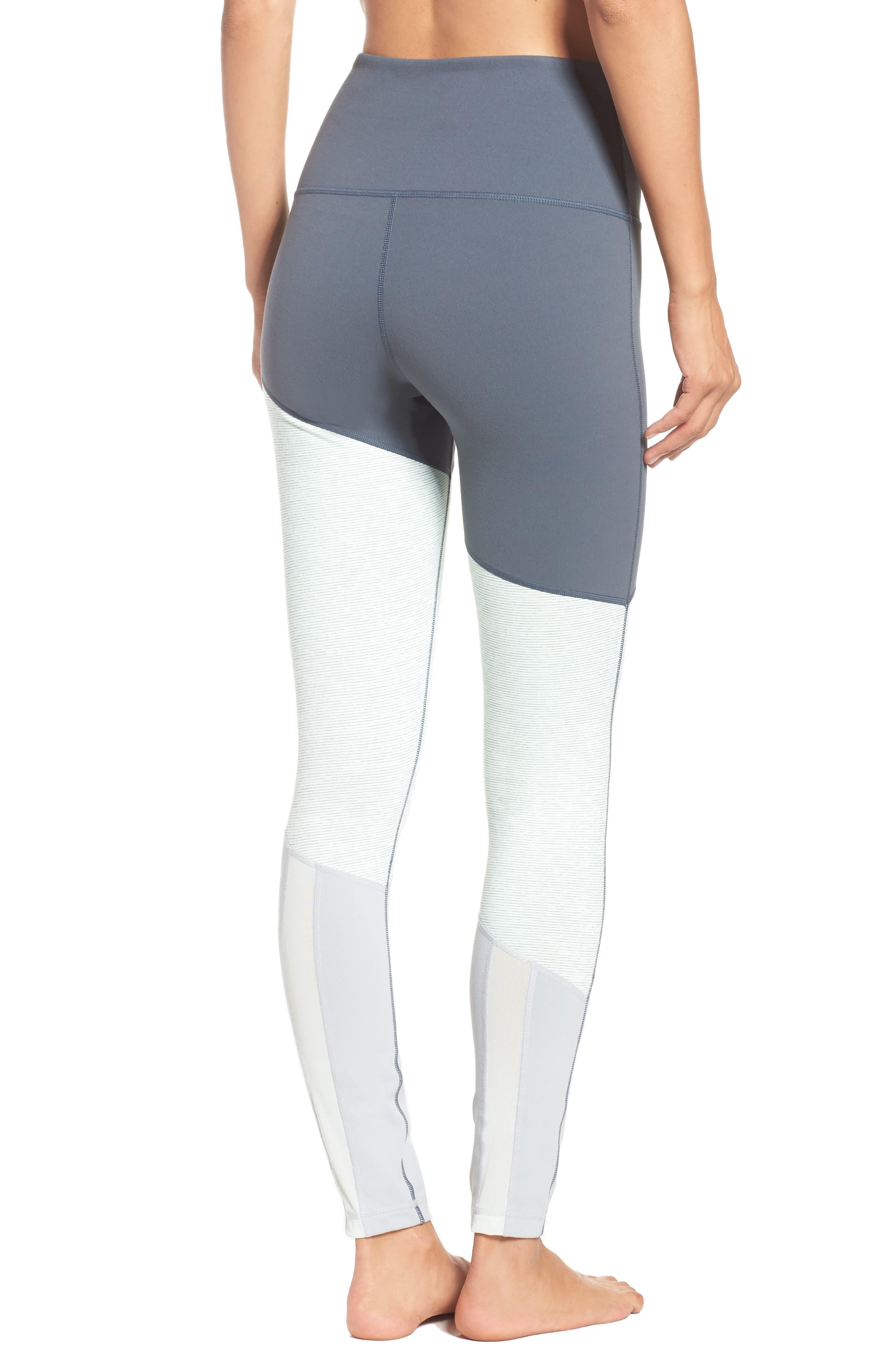 Yolo High Waist Leggings,                         Main,                         color, Grey Graphite Stellar