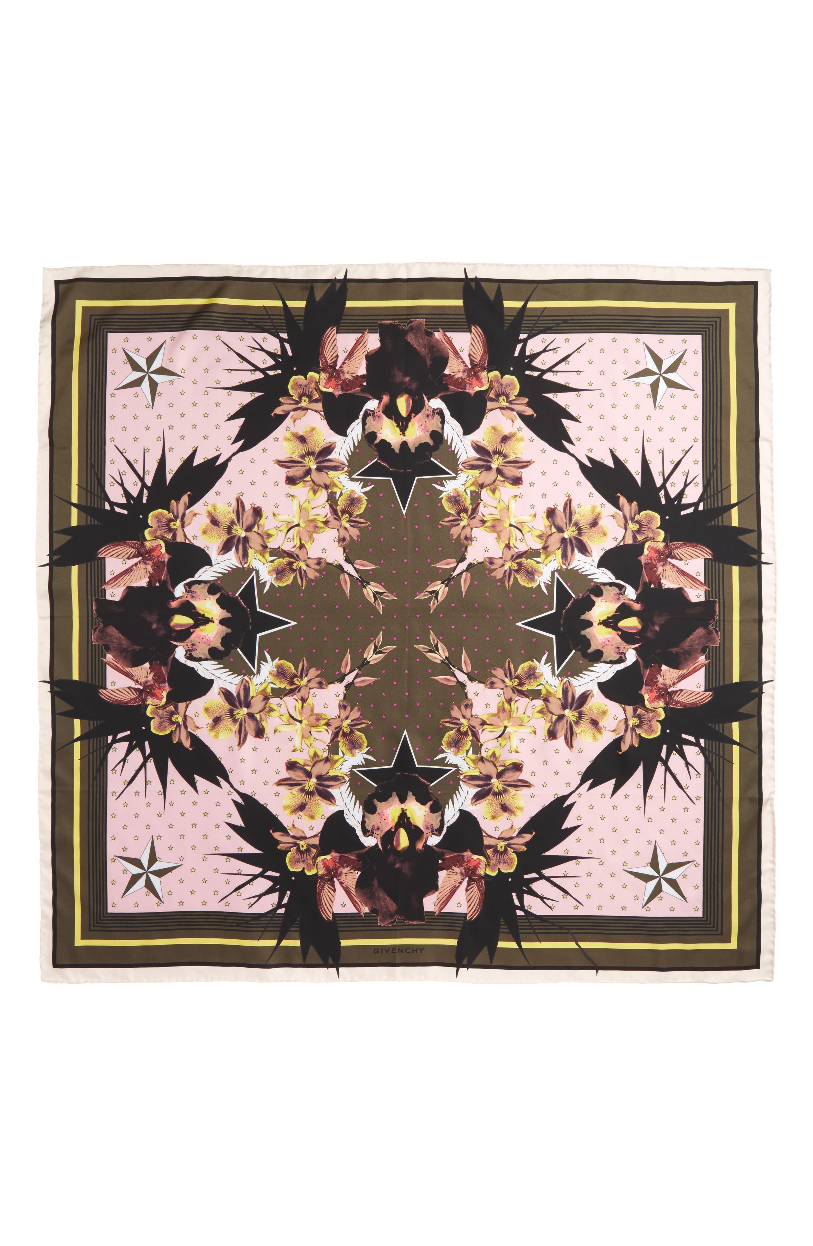 Givenchy Ultra Paradise Silk Scarf