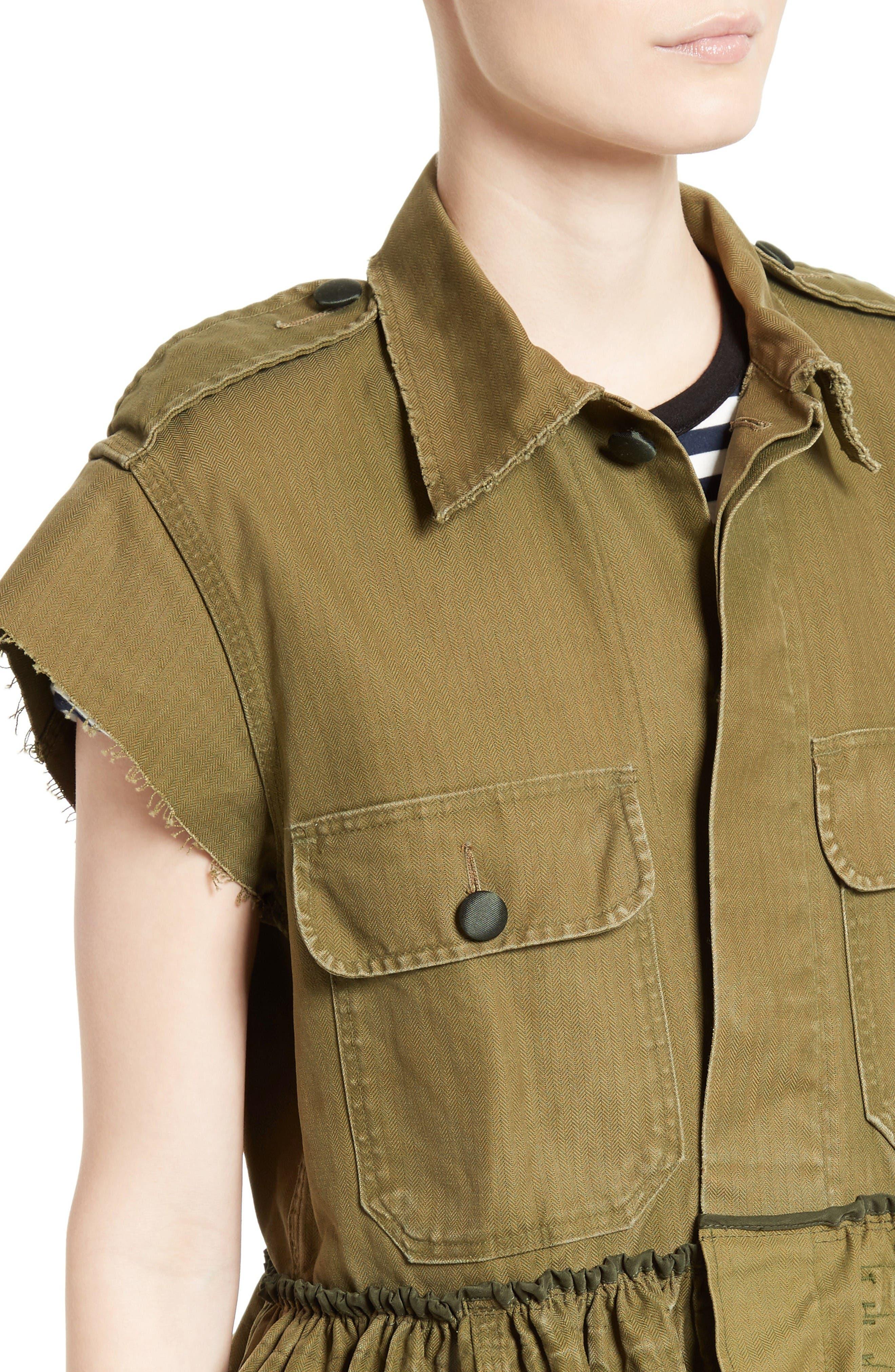 Alternate Image 4  - Harvey Faircloth Special Edition Bubble Hem Field Jacket