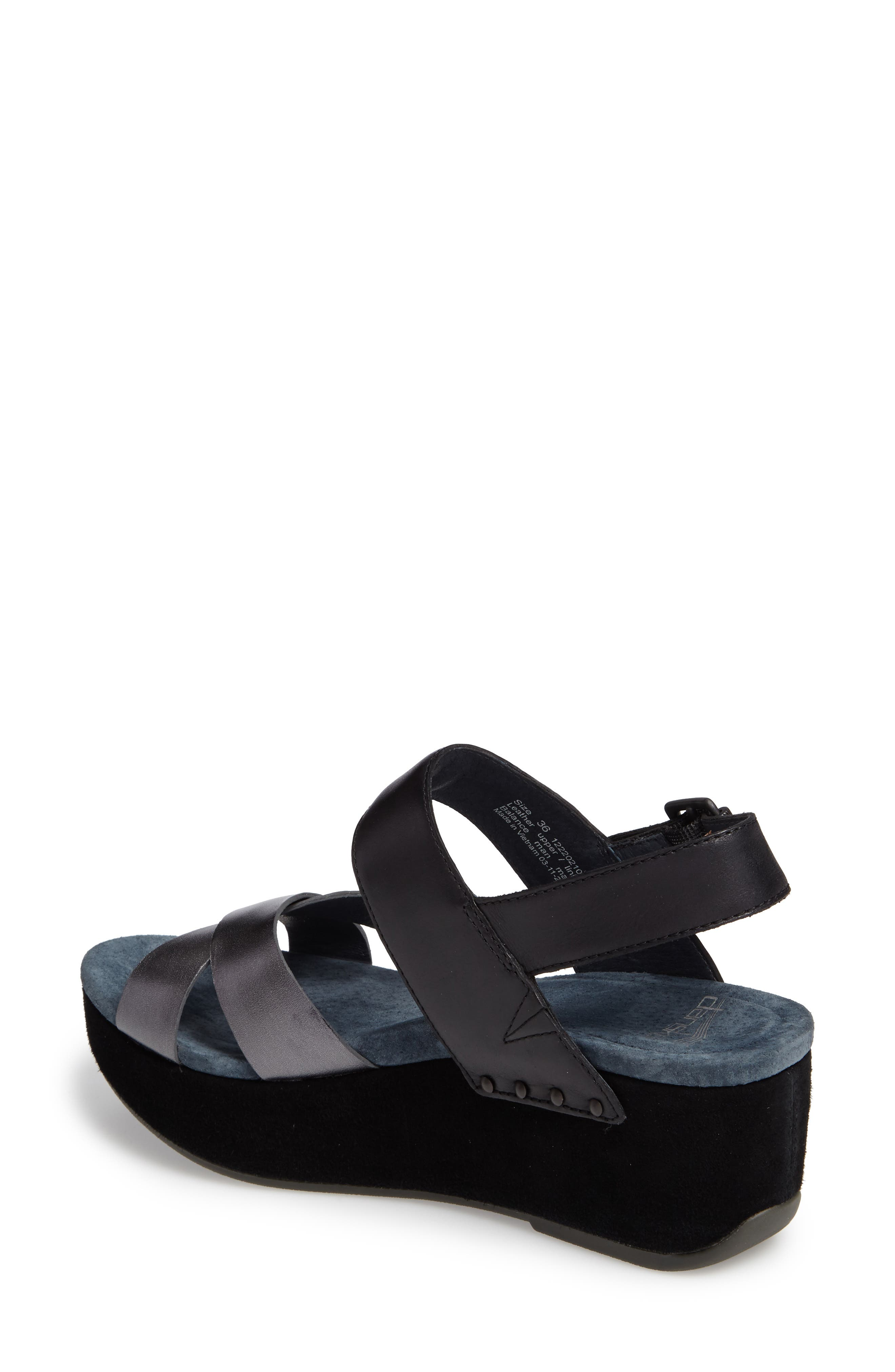 Alternate Image 2  - Dansko Stasia Platform Wedge Sandal (Women)