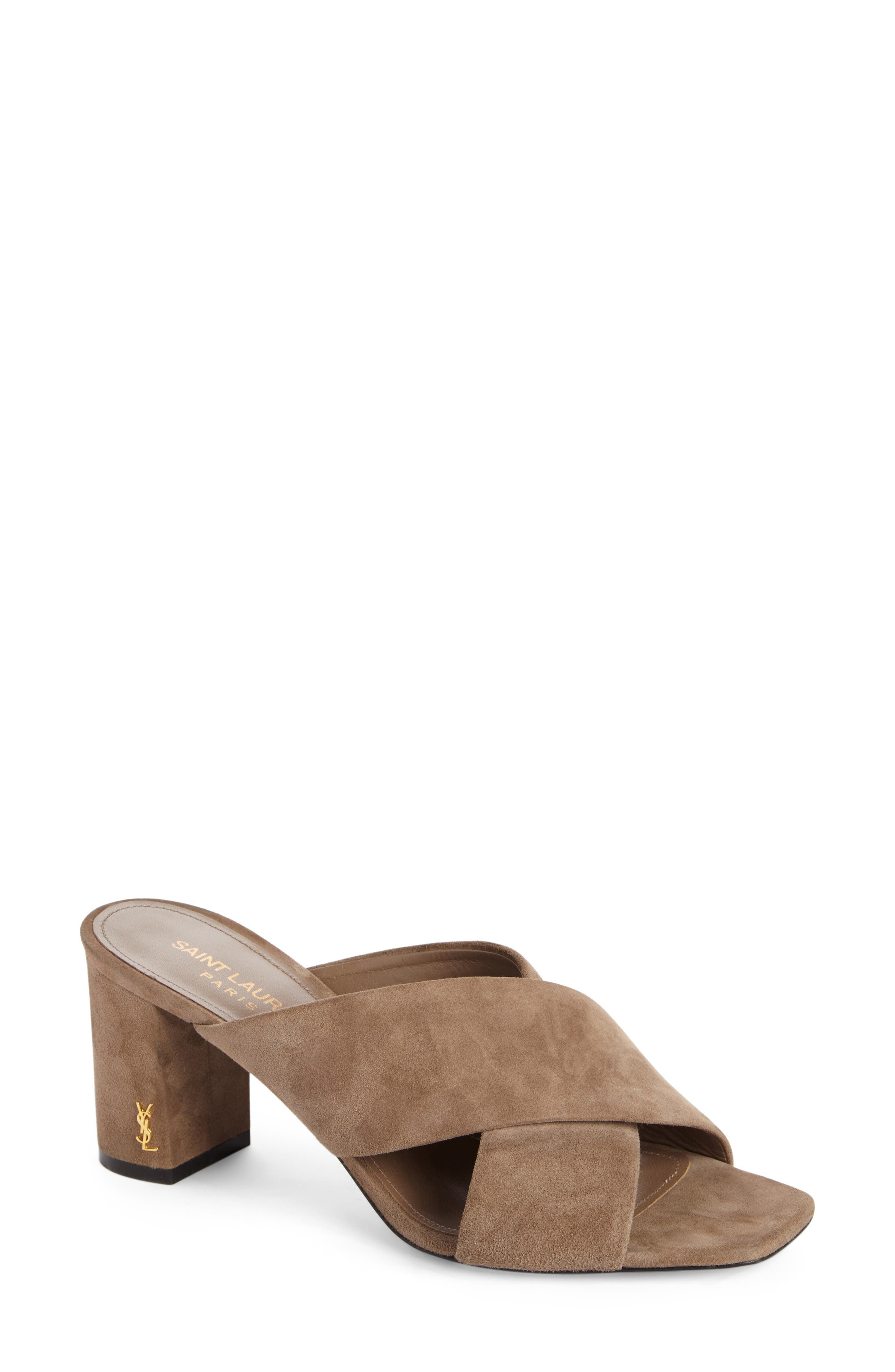Loulou Sandal,                         Main,                         color, Taupe