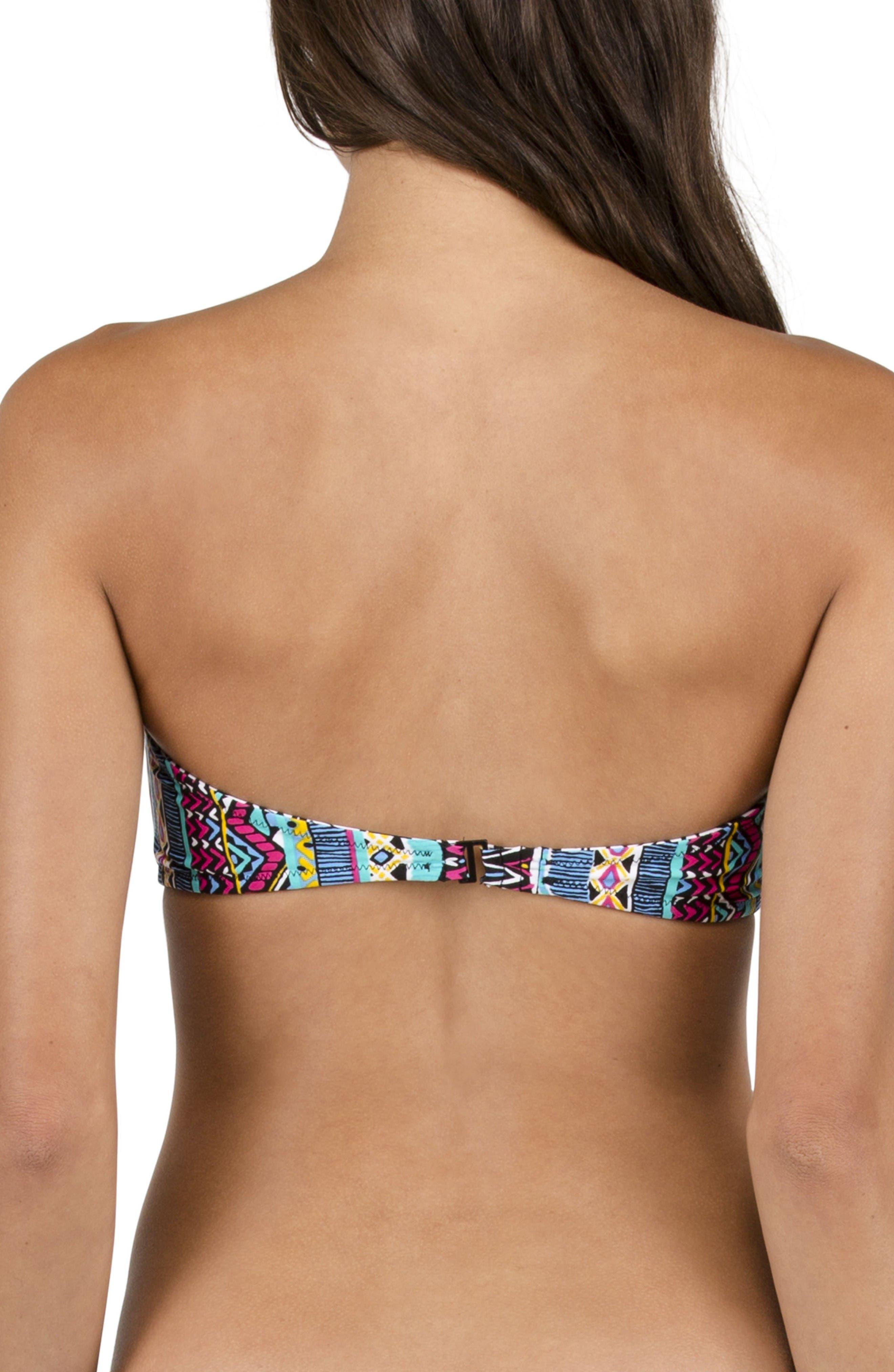 Alternate Image 3  - Volcom Locals Only Reversible Bandeau Bikini Top