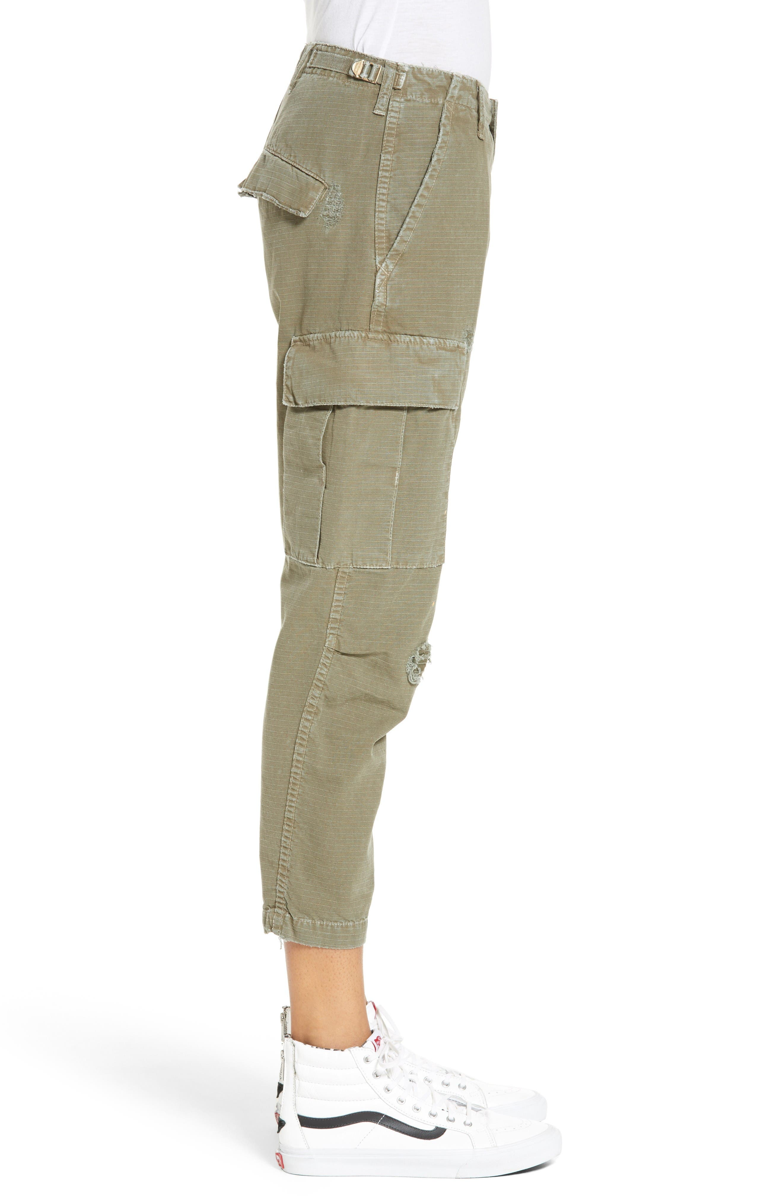 Cargo Pants,                             Alternate thumbnail 4, color,                             Army Green