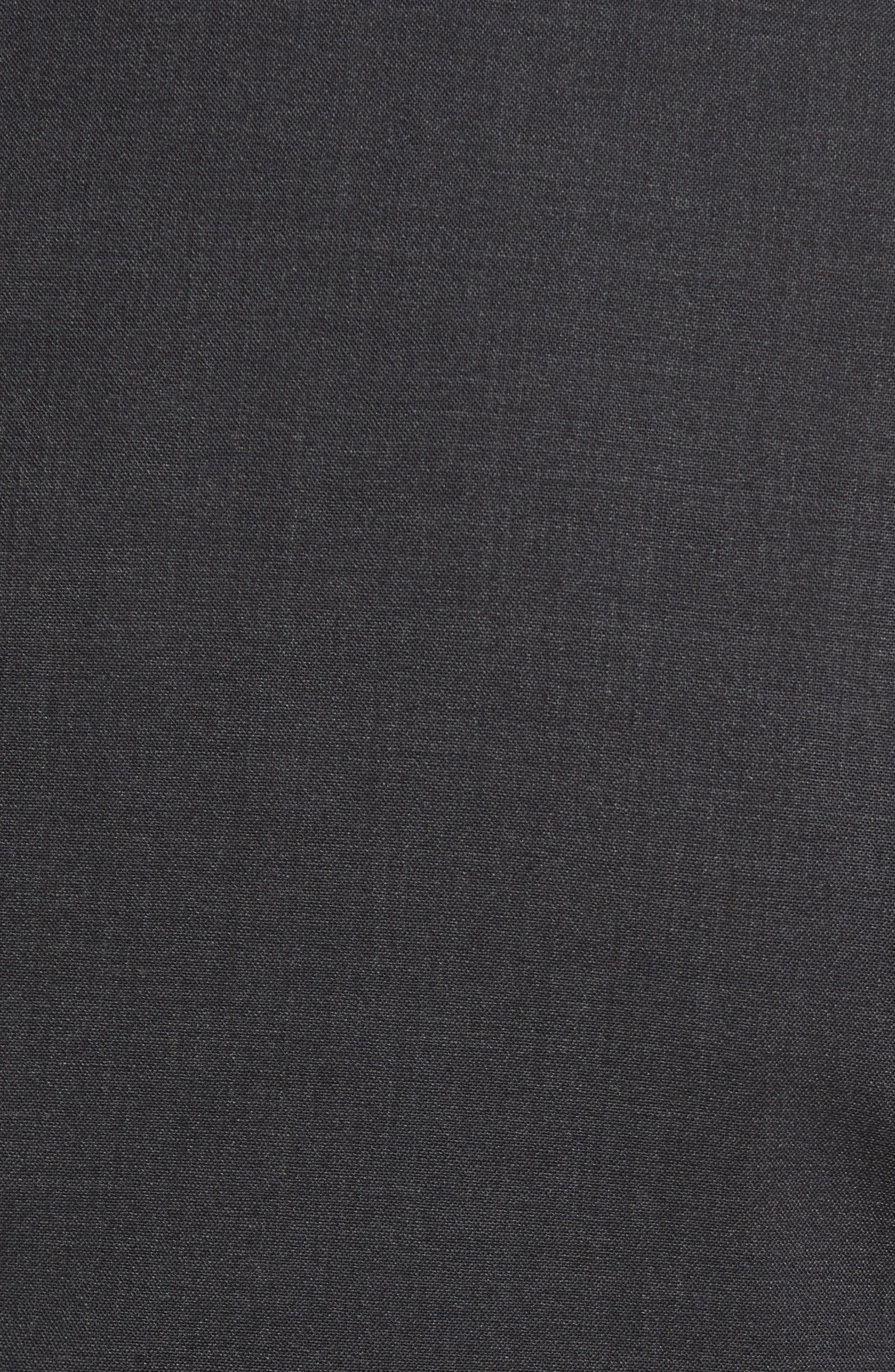 Wellar New Tailor 1 Trim Fit Stretch Wool Sport Coat,                             Alternate thumbnail 5, color,                             Dark Charcoal