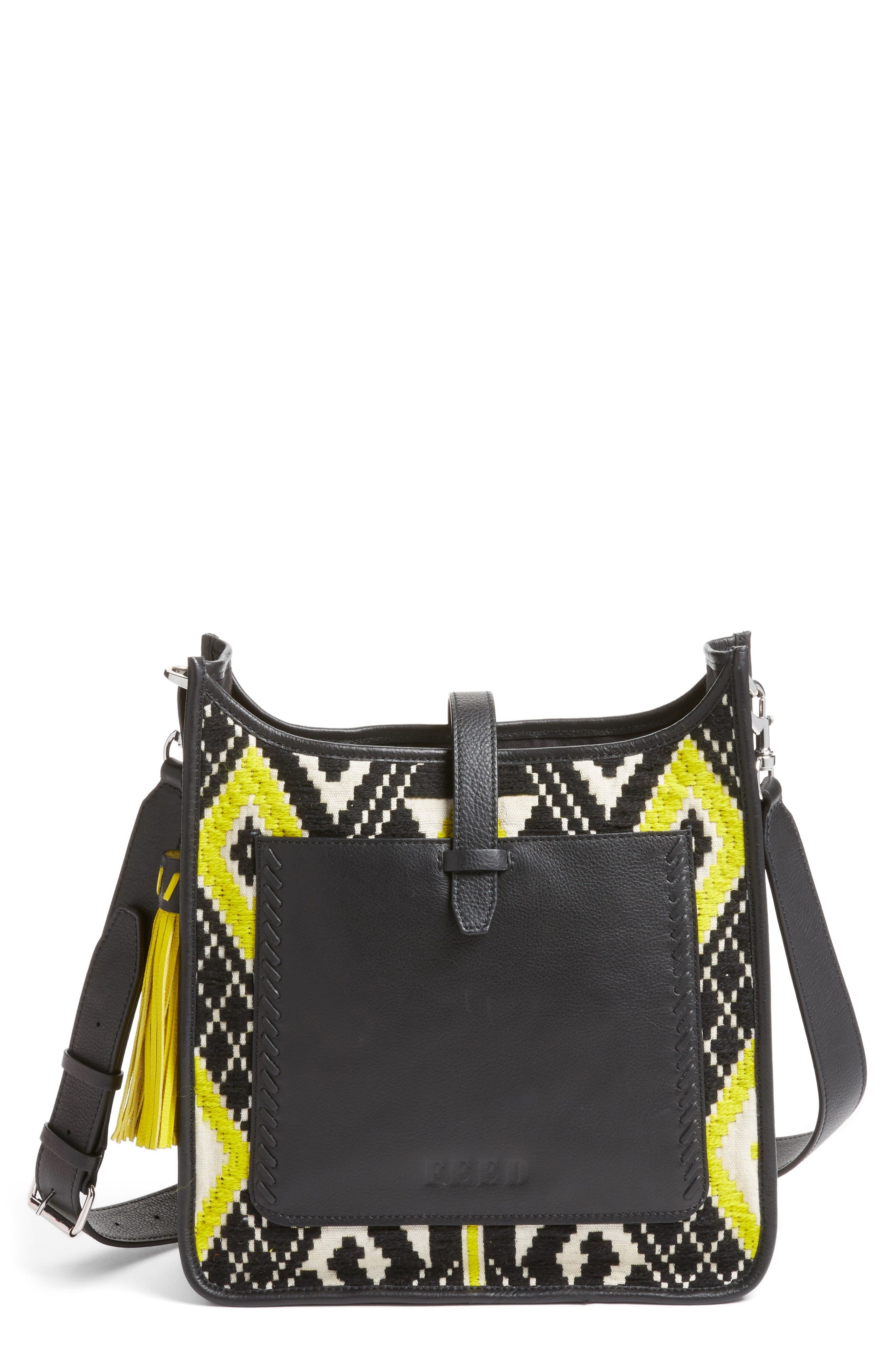 Alternate Image 1 Selected - Rebecca Minkoff x FEED Woven Feed Bag