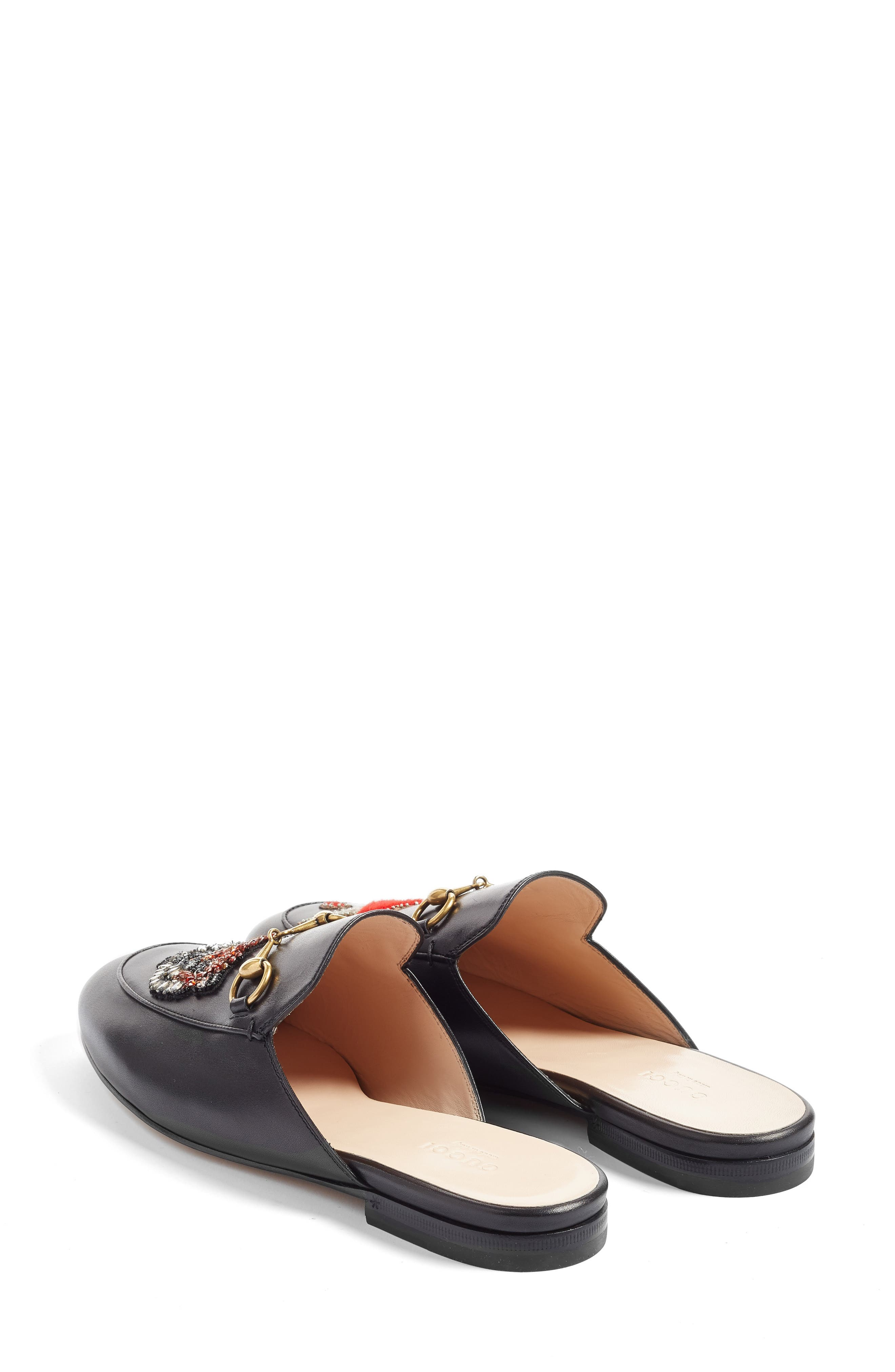 Alternate Image 2  - Gucci Princetown Mule Loafer (Women)