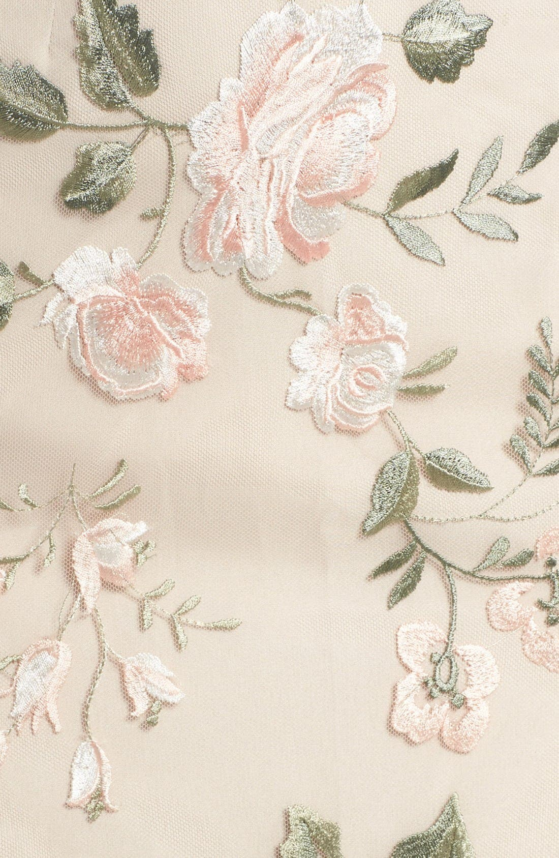 Alternate Image 5  - Jenny Yoo Claire Floral Embroidered Gown