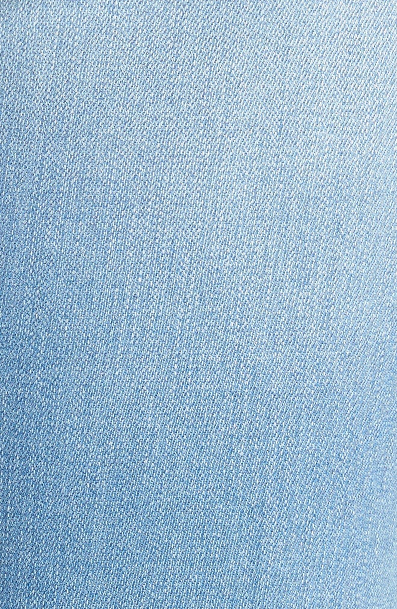 Alternate Image 5  - Articles of Society Sarah Skinny Jeans (Bay)