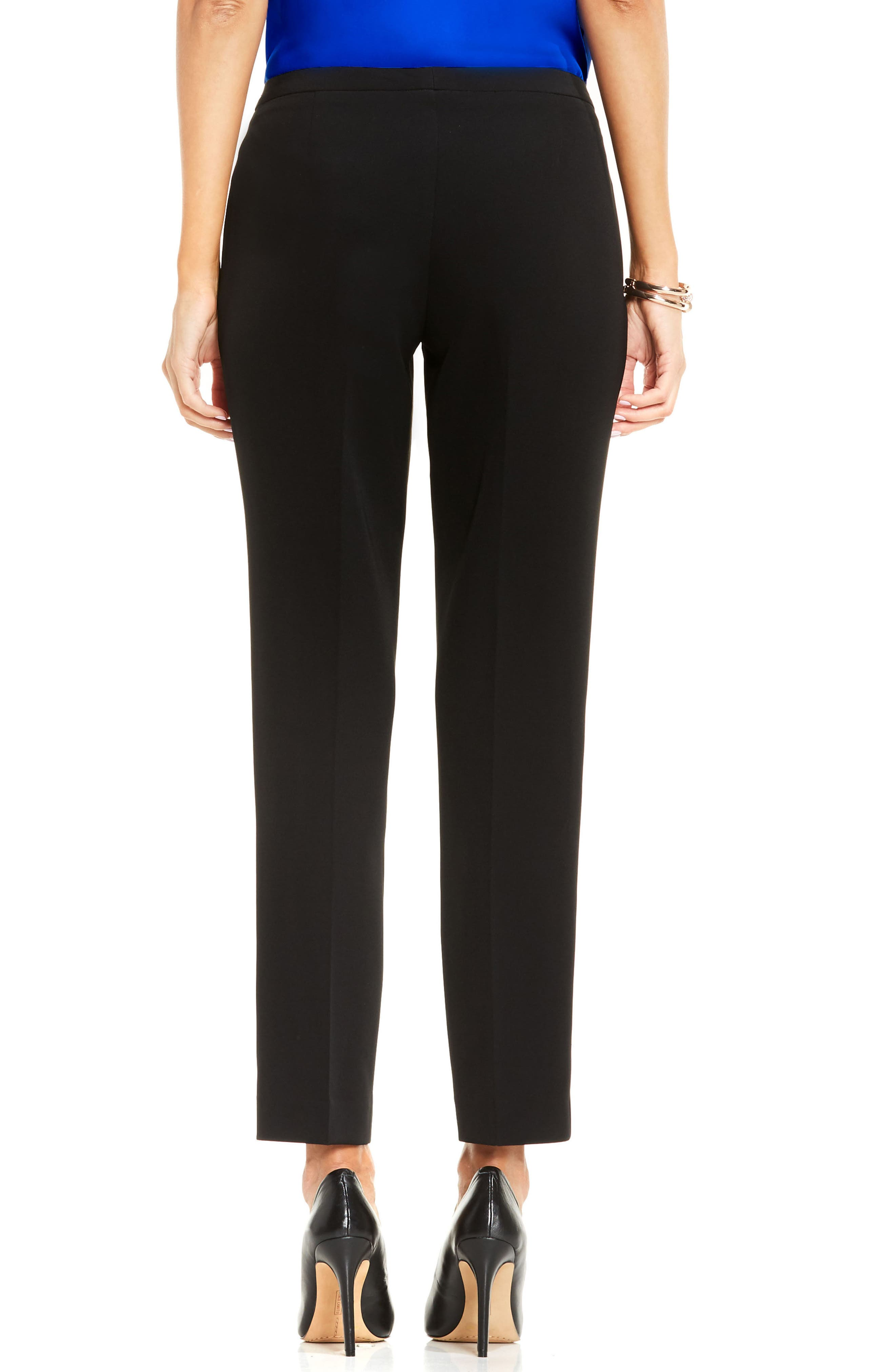 Alternate Image 2  - Vince Camuto Stretch Twill Ankle Pants (Regular & Petite)