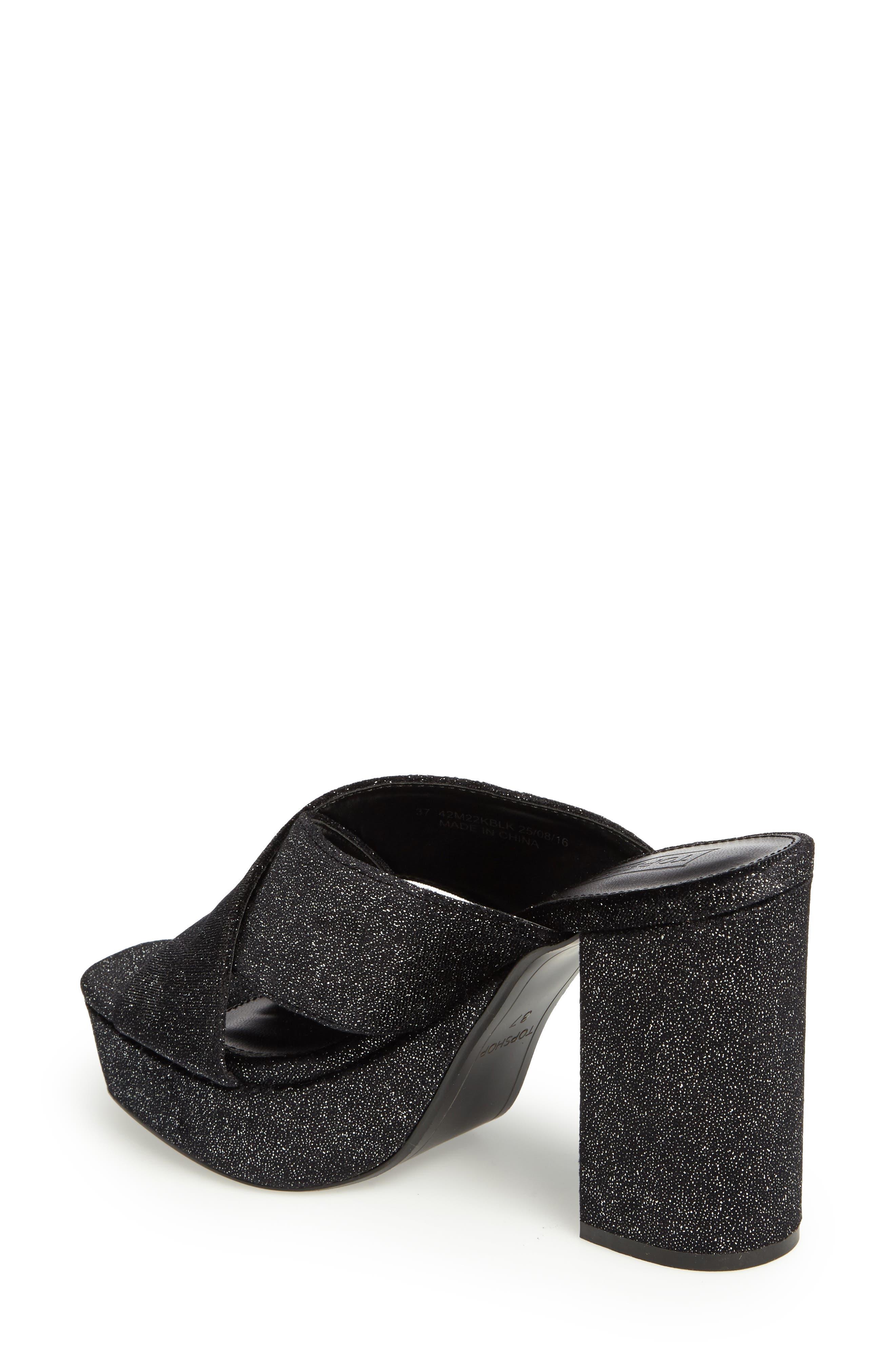 Alternate Image 2  - Topshop Miss X Platform Sandal (Women)