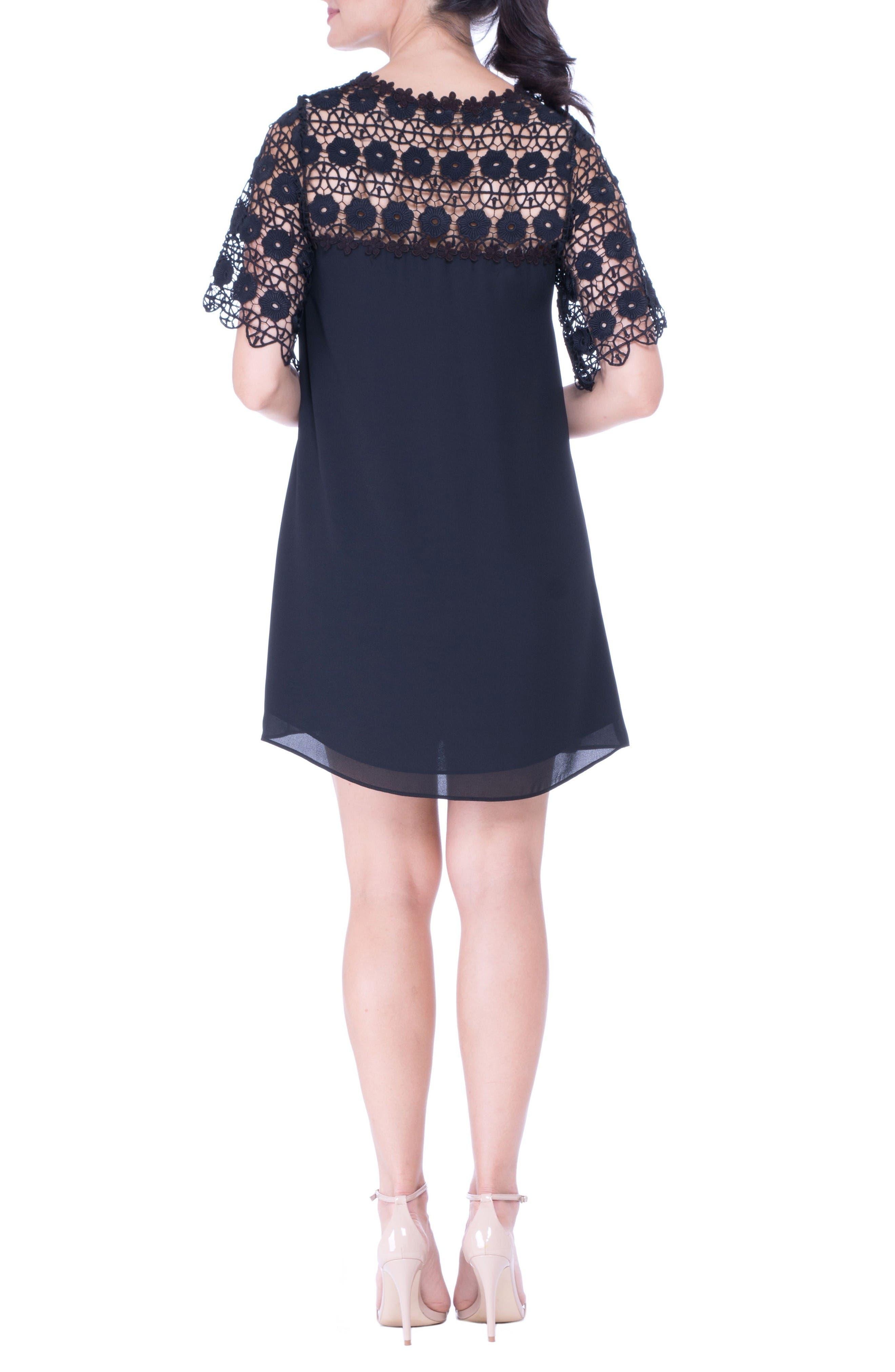 Alternate Image 2  - Olian Lace Yoke Maternity Dress