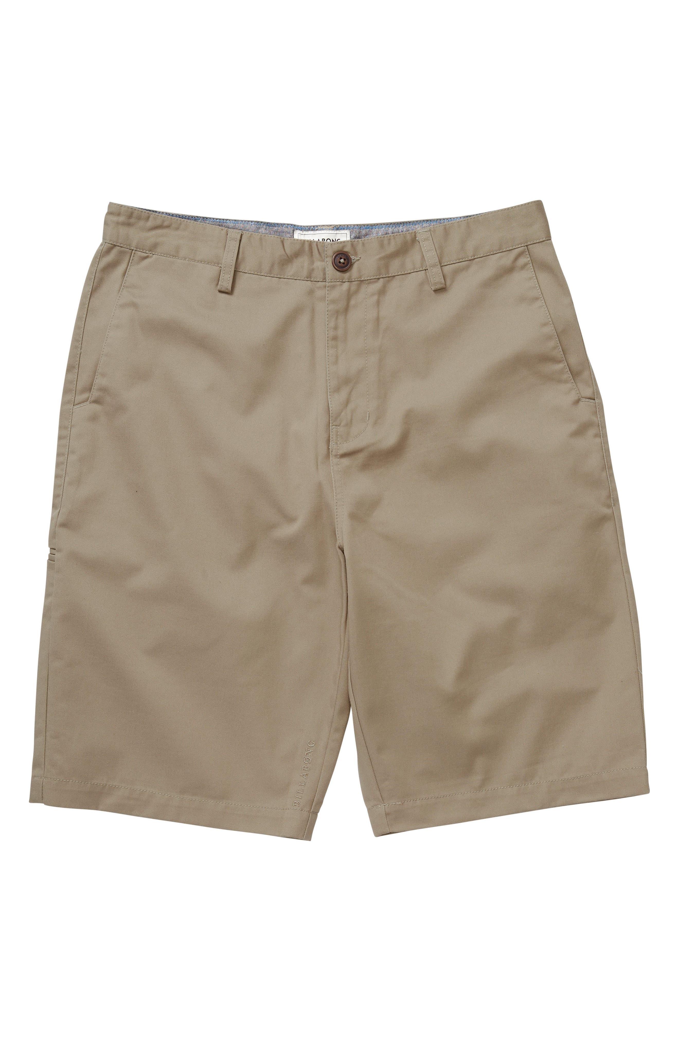 Billabong Carter Walking Shorts (Big Boys)