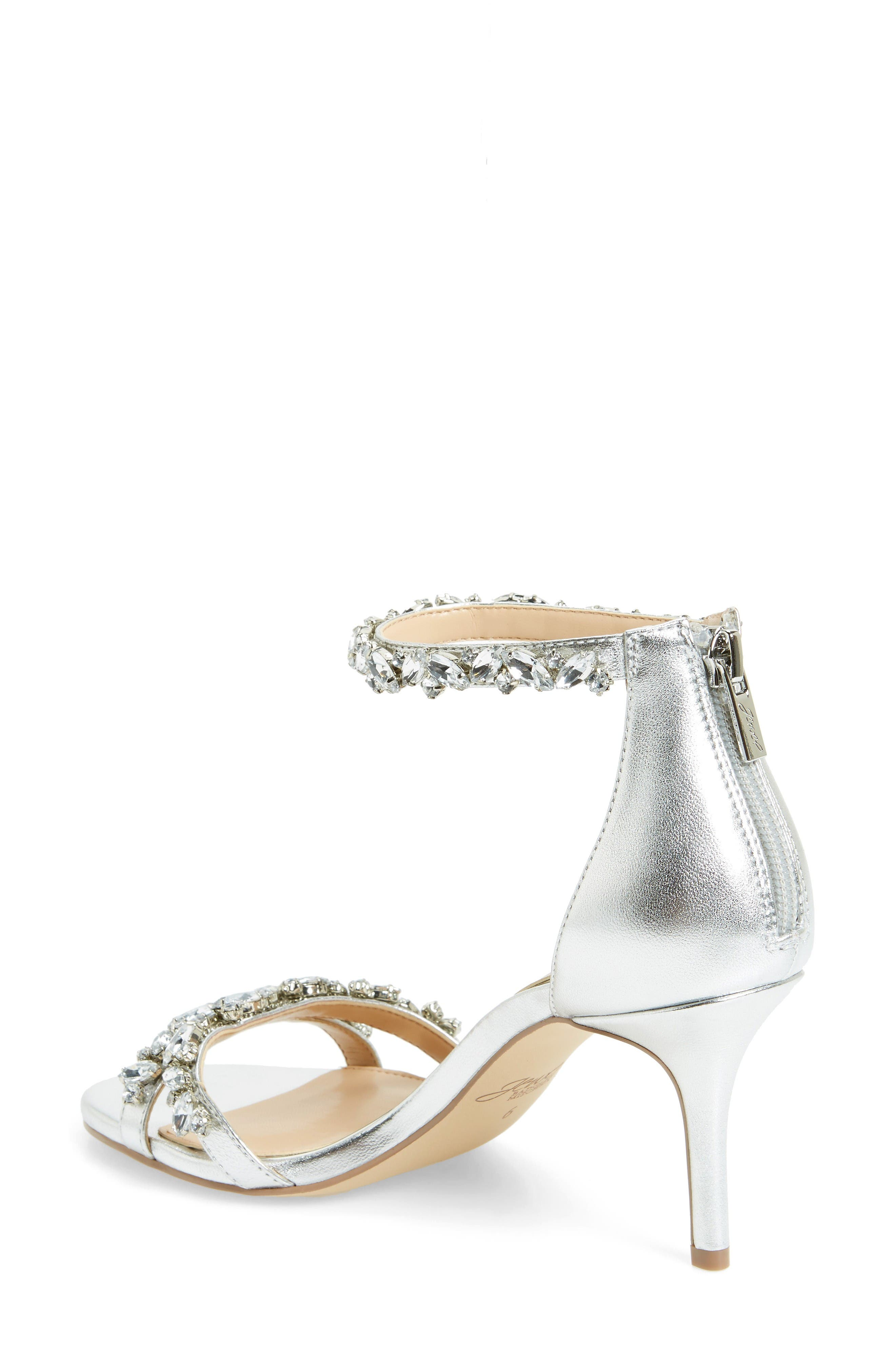 Alternate Image 2  - Jewel Badgley Mischka Caroline Embellished Sandal (Women)