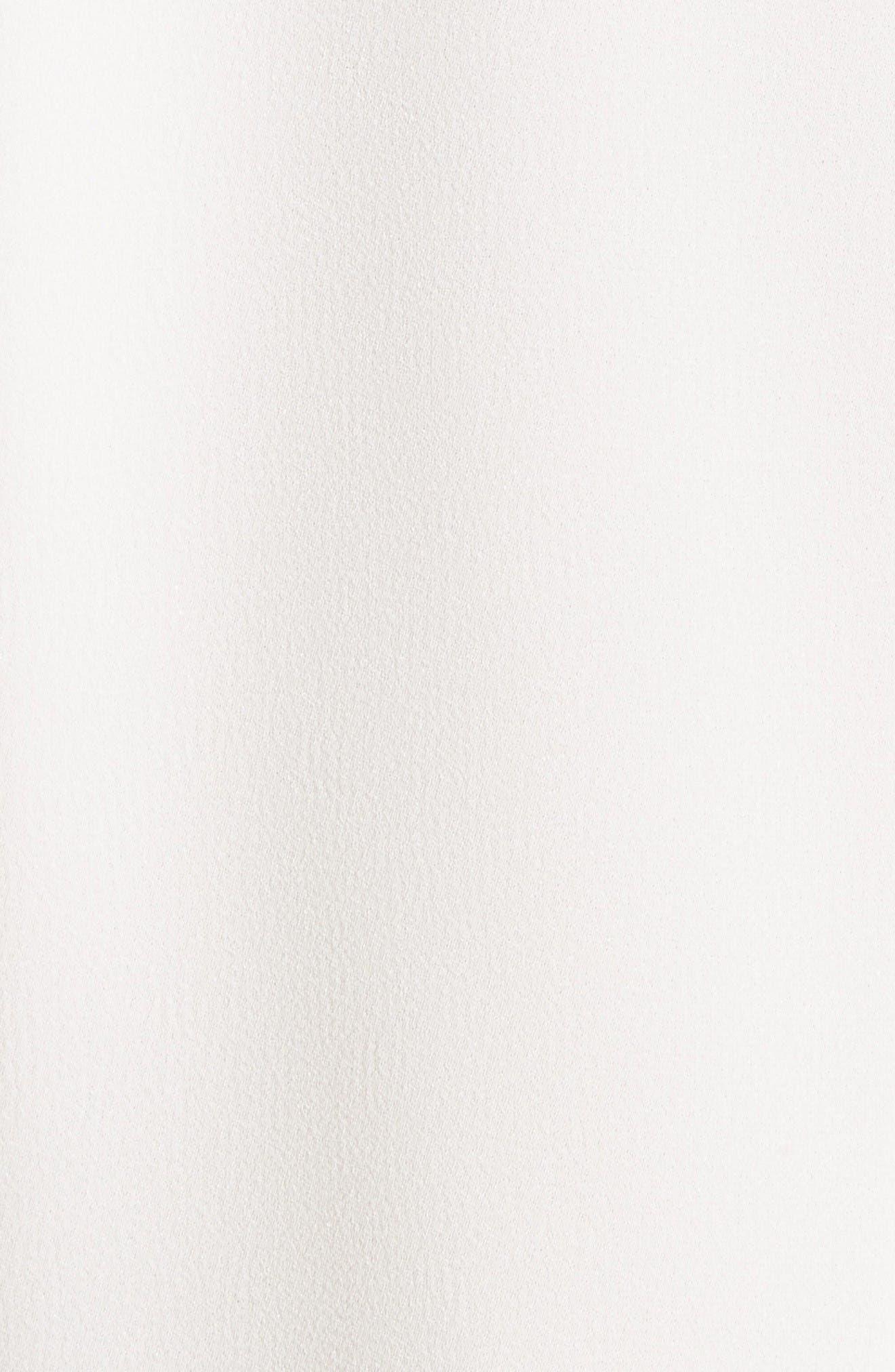 Turtleneck Dolman Top,                             Alternate thumbnail 5, color,                             Ivory