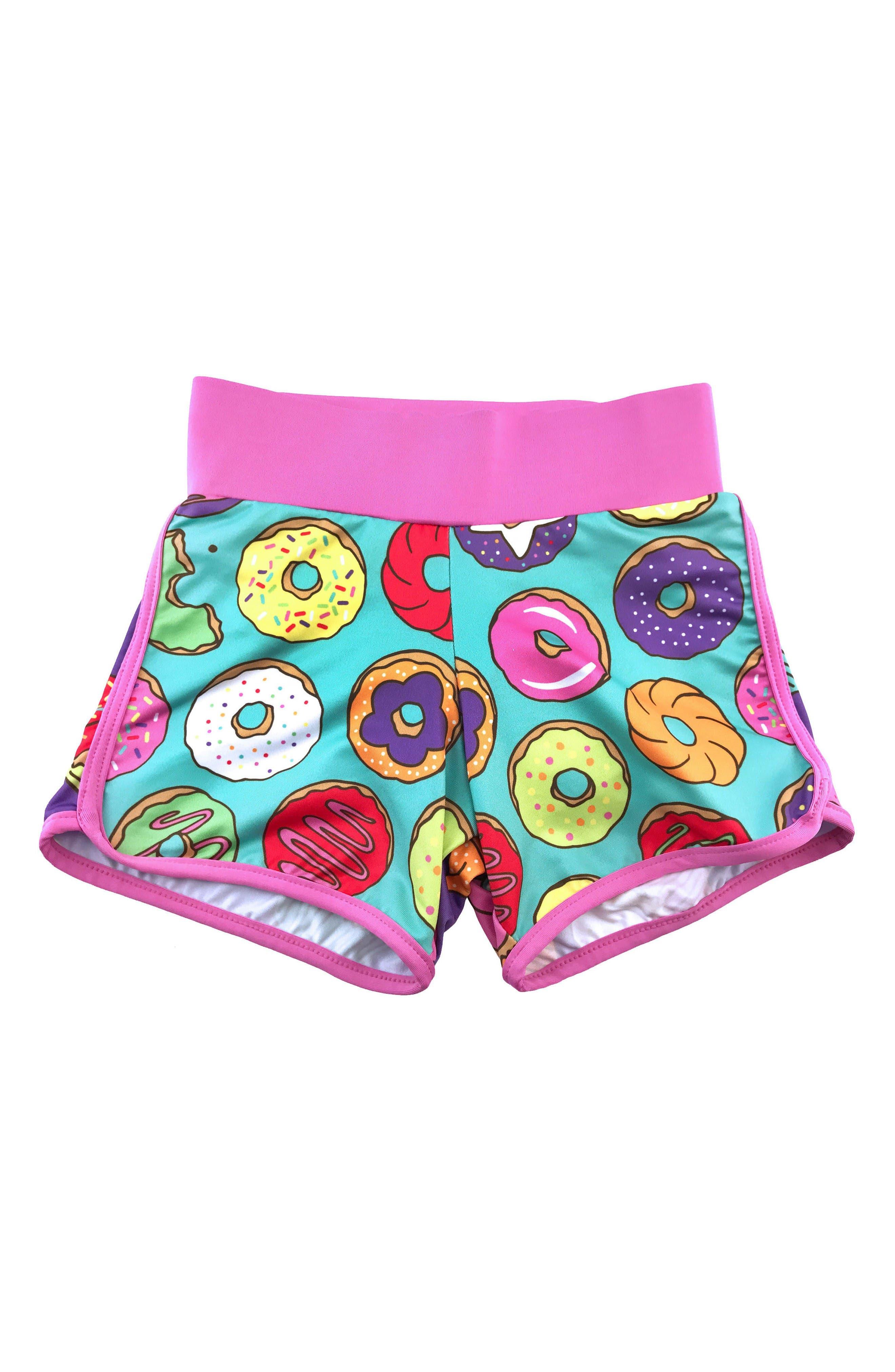CHOOZE Sprint Print Shorts (Little Girls & Big Girls)