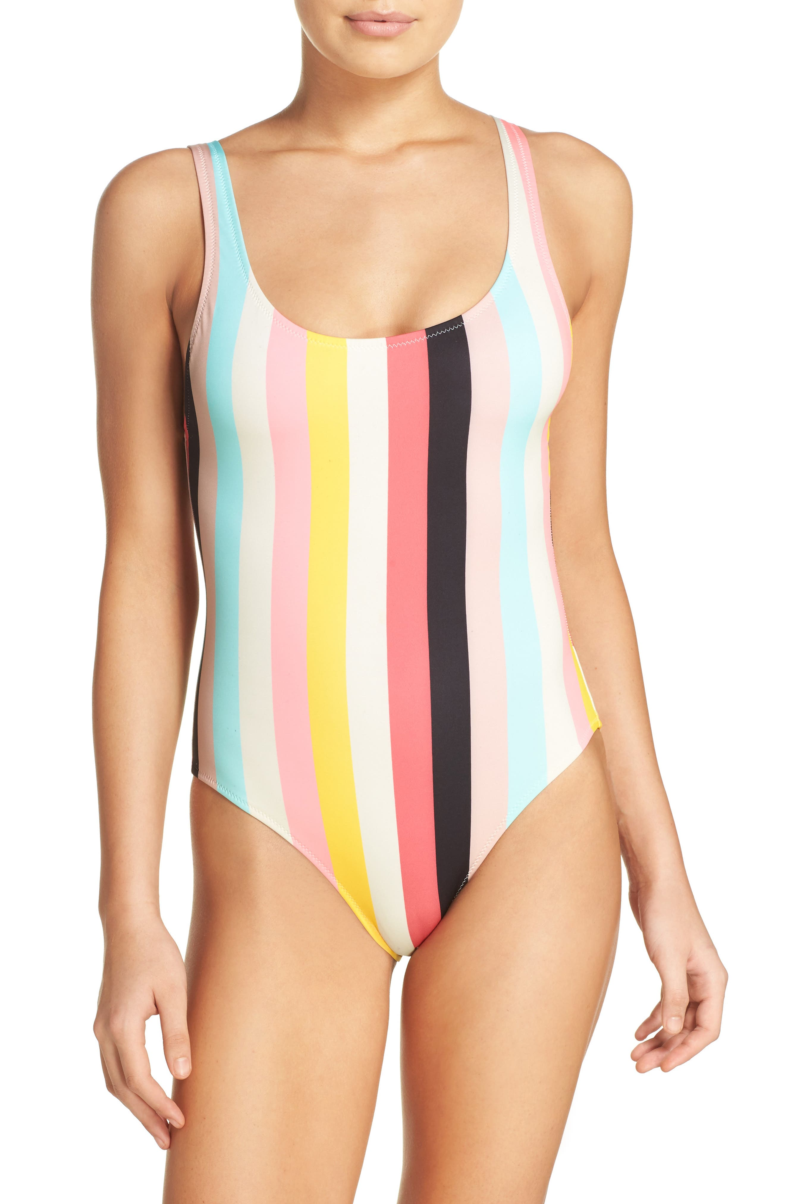 Alternate Image 1 Selected - Solid & Striped Anne Marie One-Piece Swimsuit