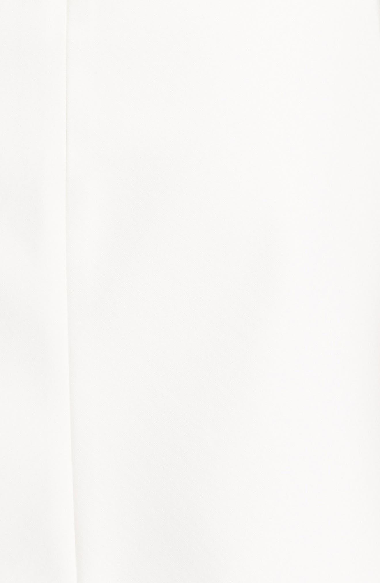 Bond Stretch Knit Minidress,                             Alternate thumbnail 5, color,                             White