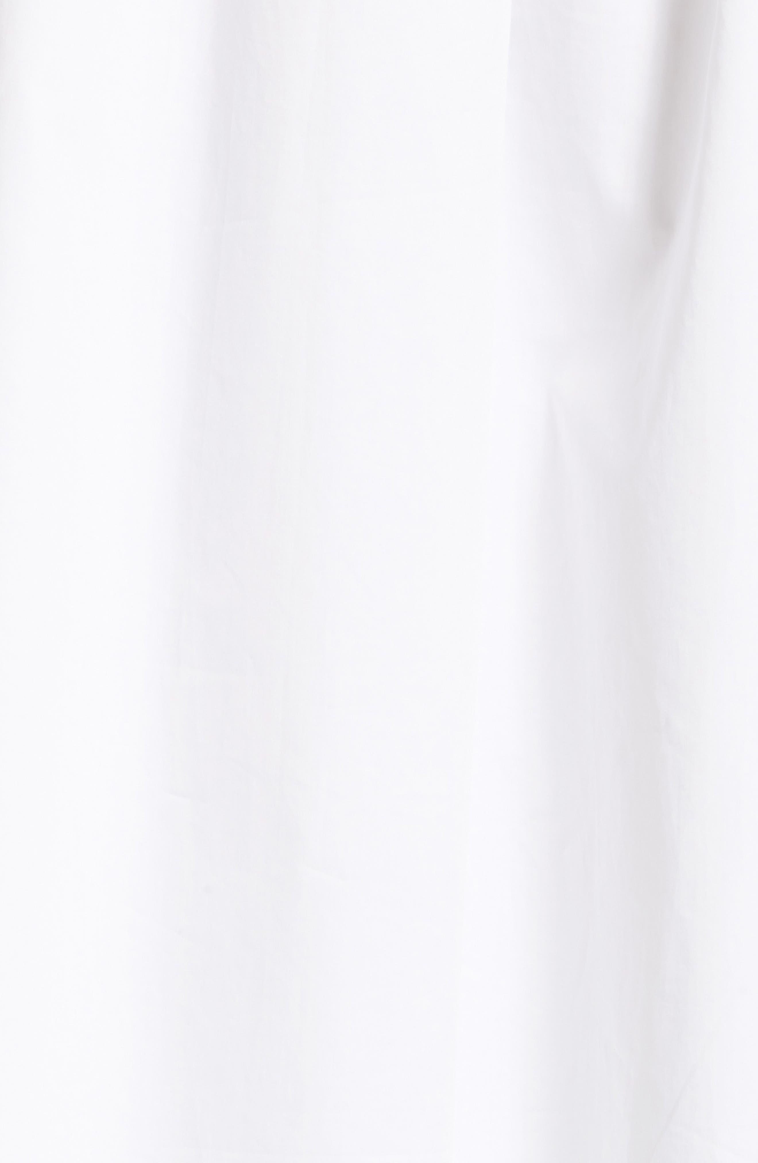 Smocked Tunic Dress,                             Alternate thumbnail 5, color,                             White/ Ivory Multi