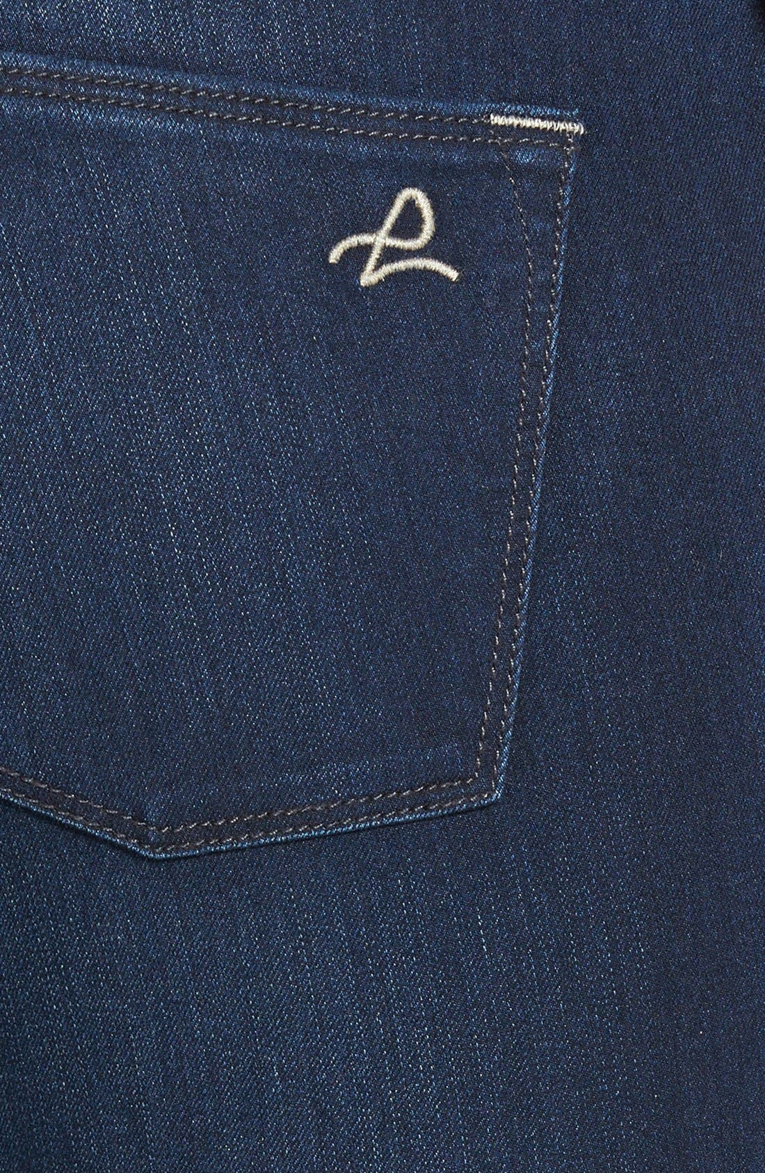 'Grace' Straight Jeans,                             Alternate thumbnail 3, color,                             Moscow