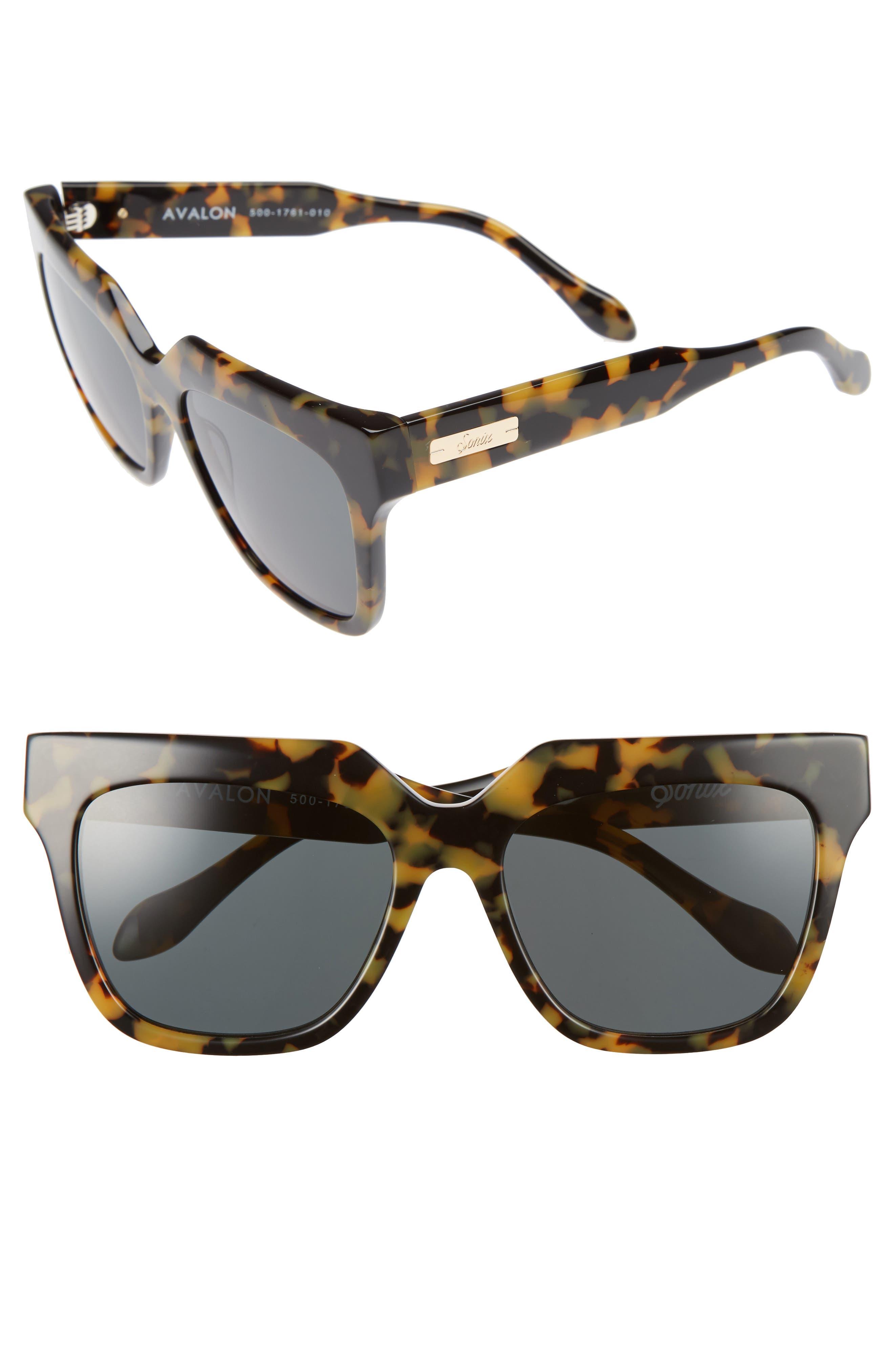 SONIX Avalon 57mm Retro Sunglasses