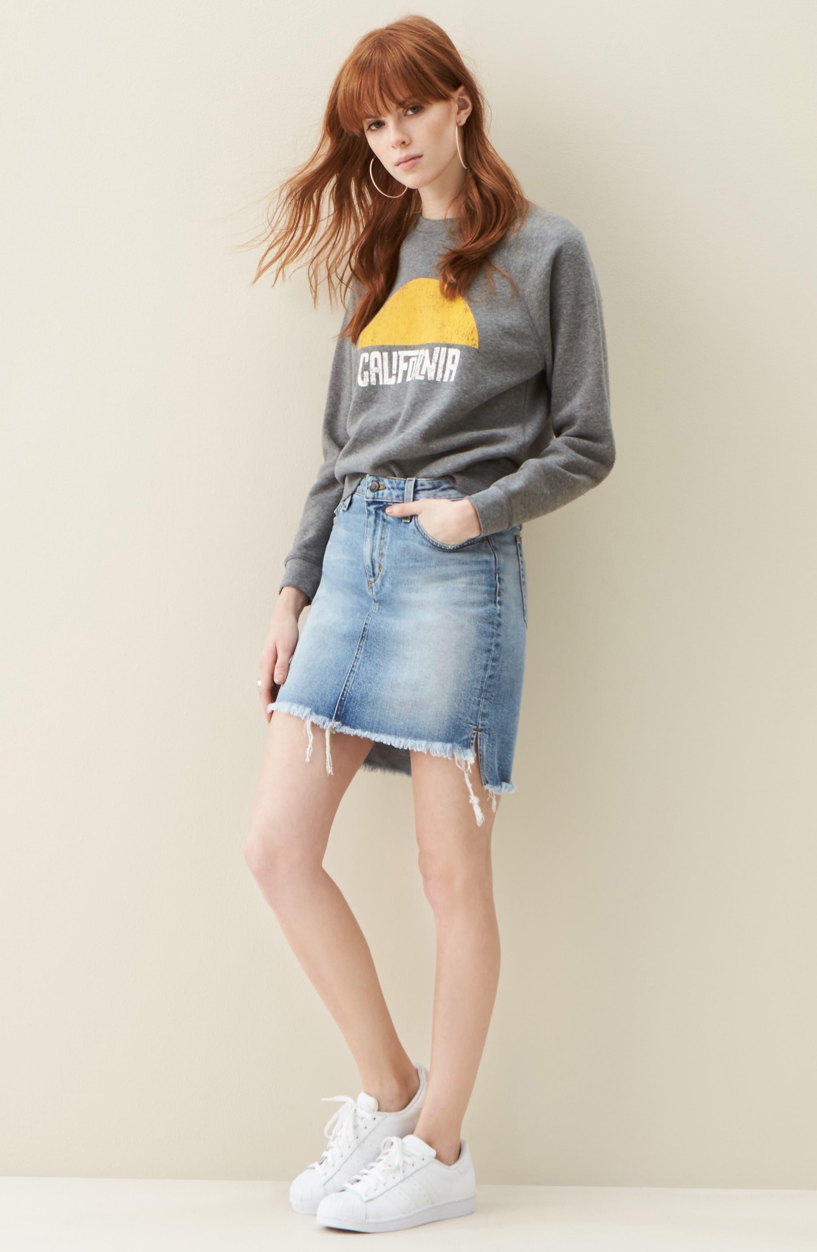 Alternate Image 2  - Rebecca Minkoff California Sunset Sweatshirt