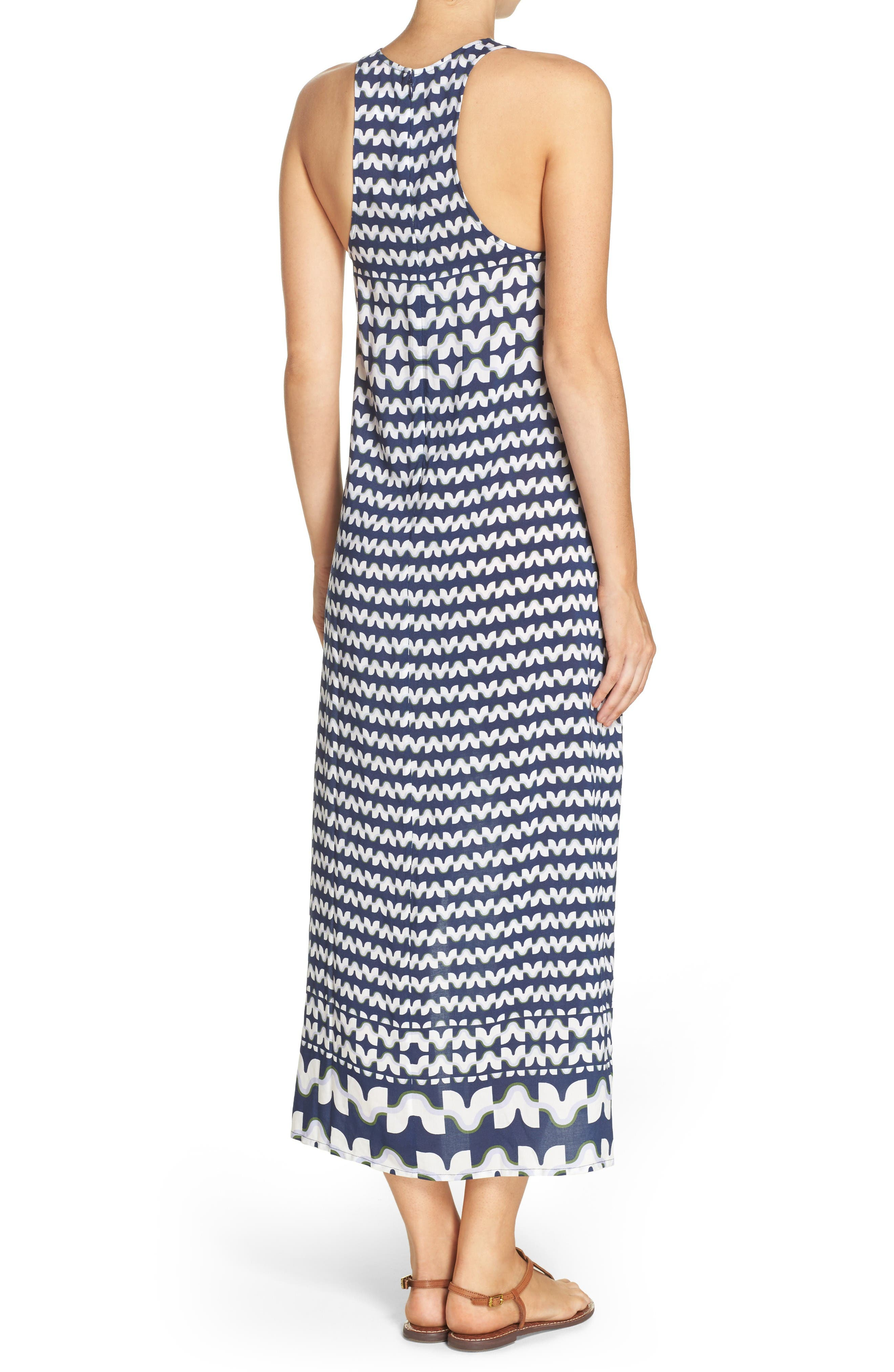 Alternate Image 2  - Tory Burch Windwell Cover-Up Maxi Dress