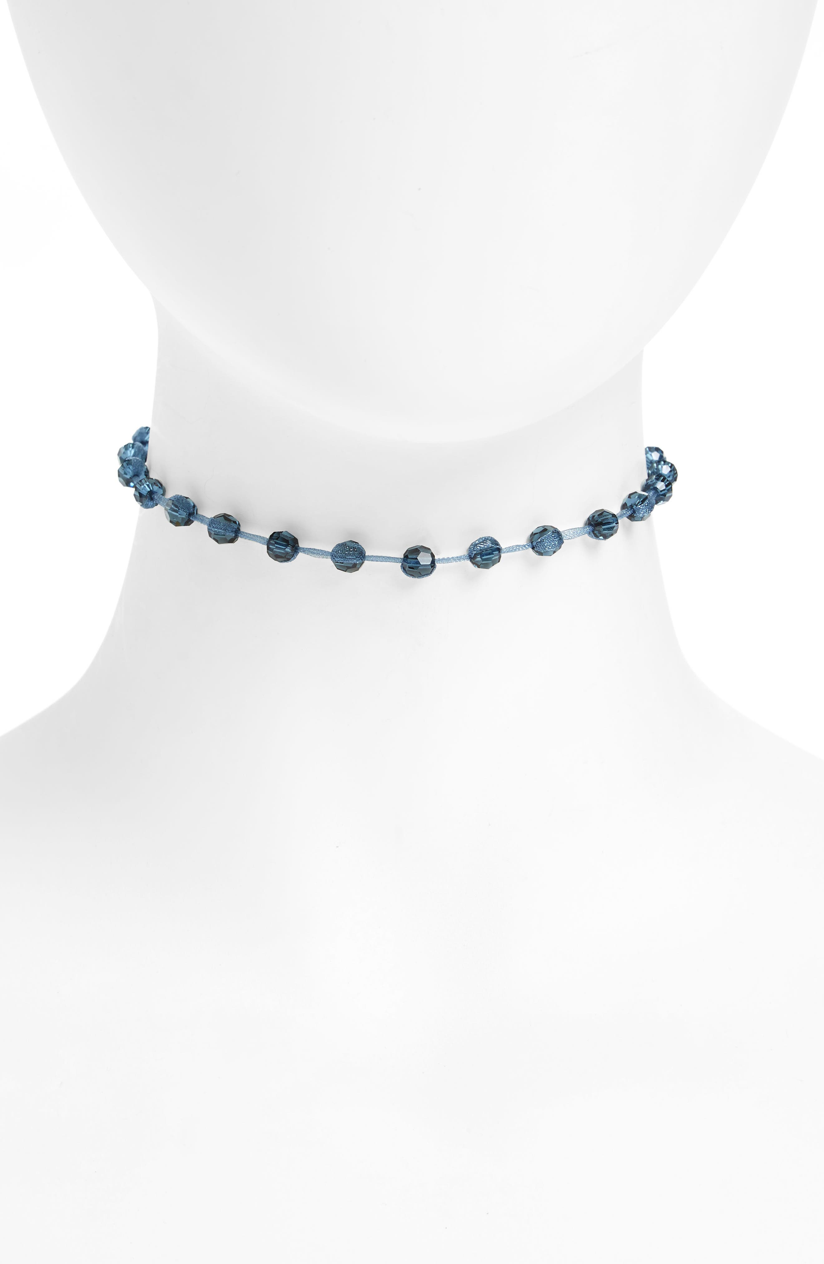 Alternate Image 1 Selected - Chan Luu Crystal Choker Necklace