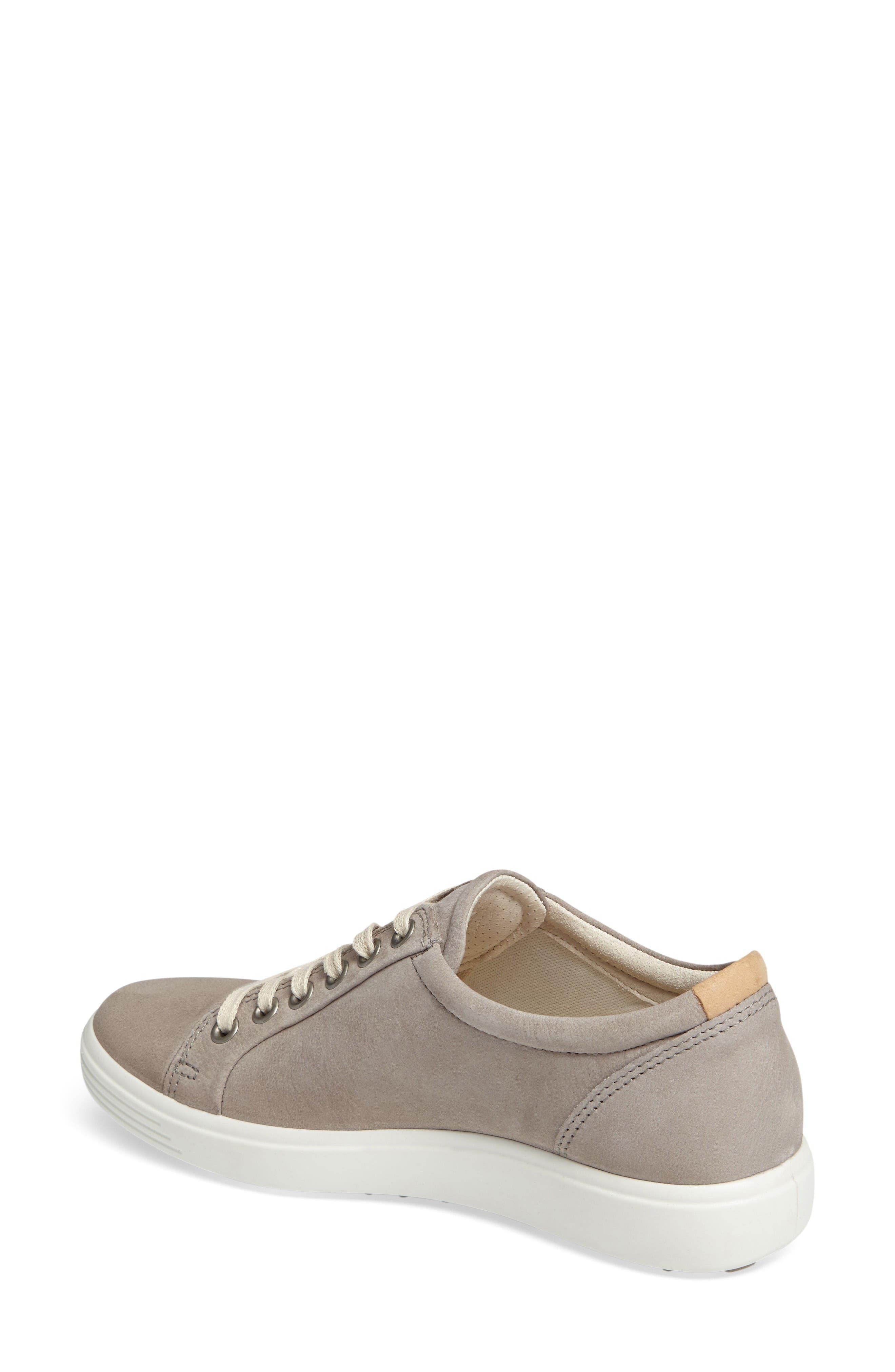 Alternate Image 2  - ECCO 'Soft 7' Cap Toe Sneaker (Women)