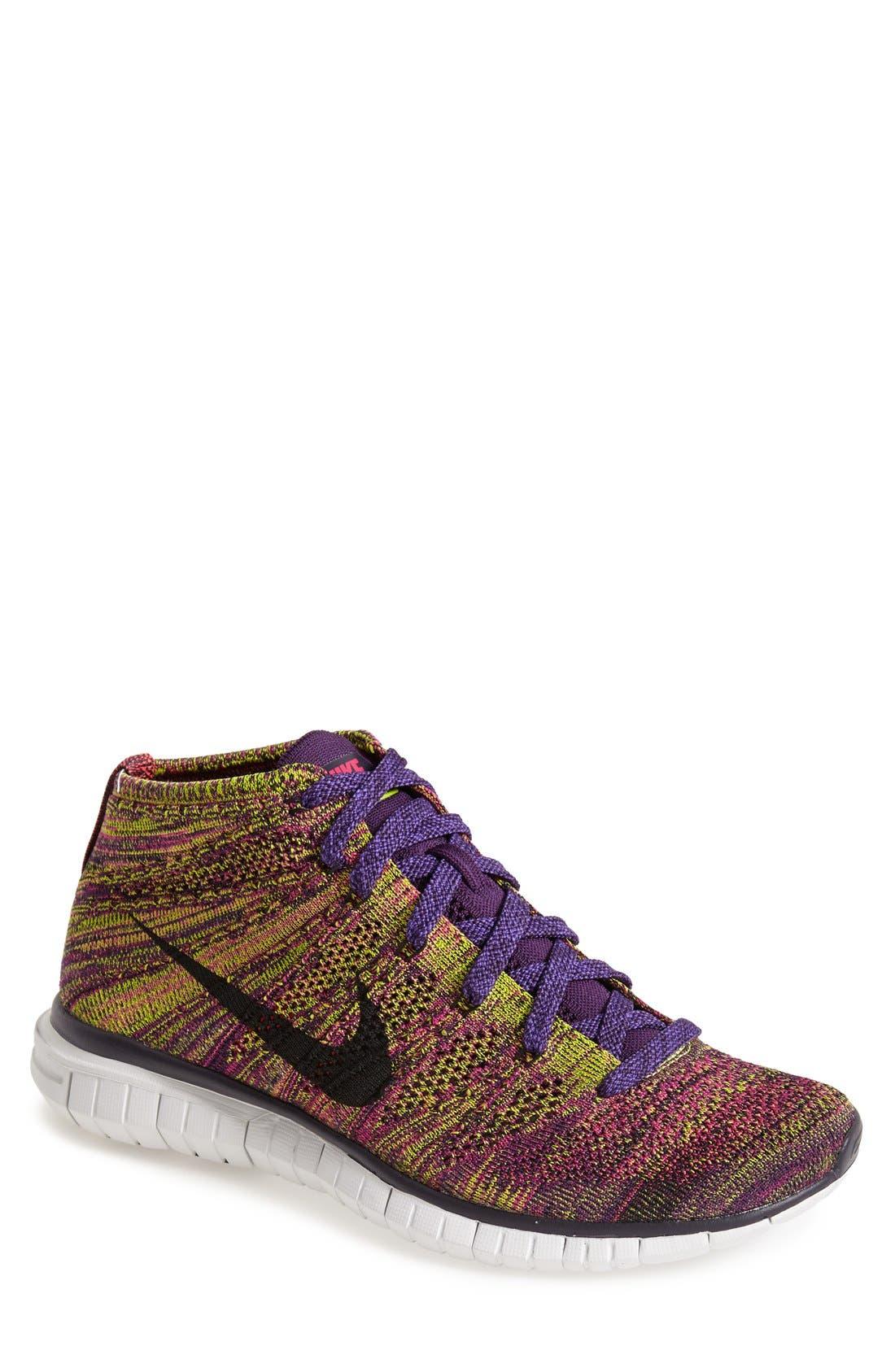 Alternate Image 1 Selected - Nike 'Free Flyknit Chukka' Sneaker (Men)