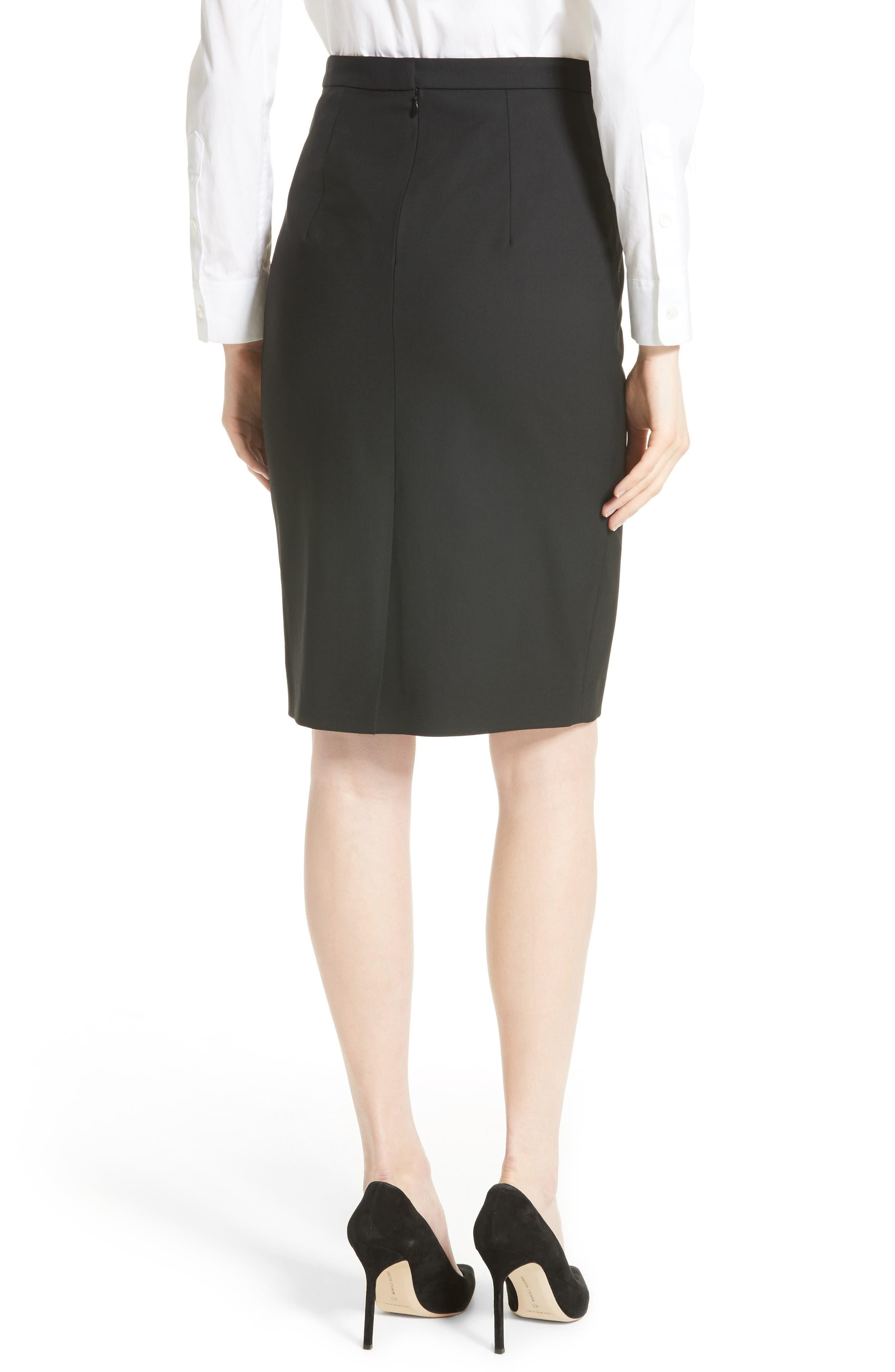 Alternate Image 3  - Theory Hemdall B Good Wool Suit Skirt (Nordstrom Exclusive)
