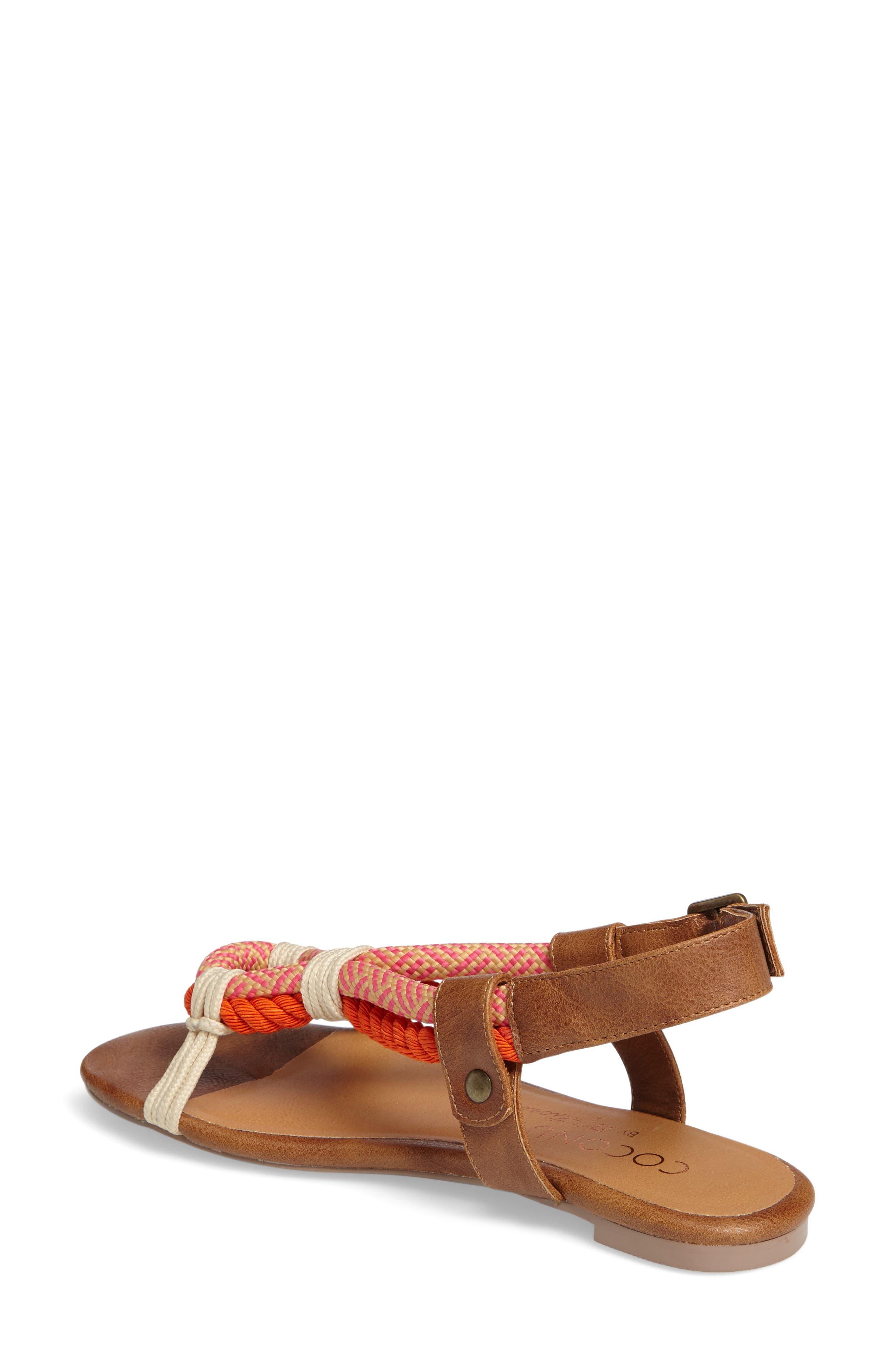 Matisse Parlay Sandal,                             Alternate thumbnail 2, color,                             Tan Fabric