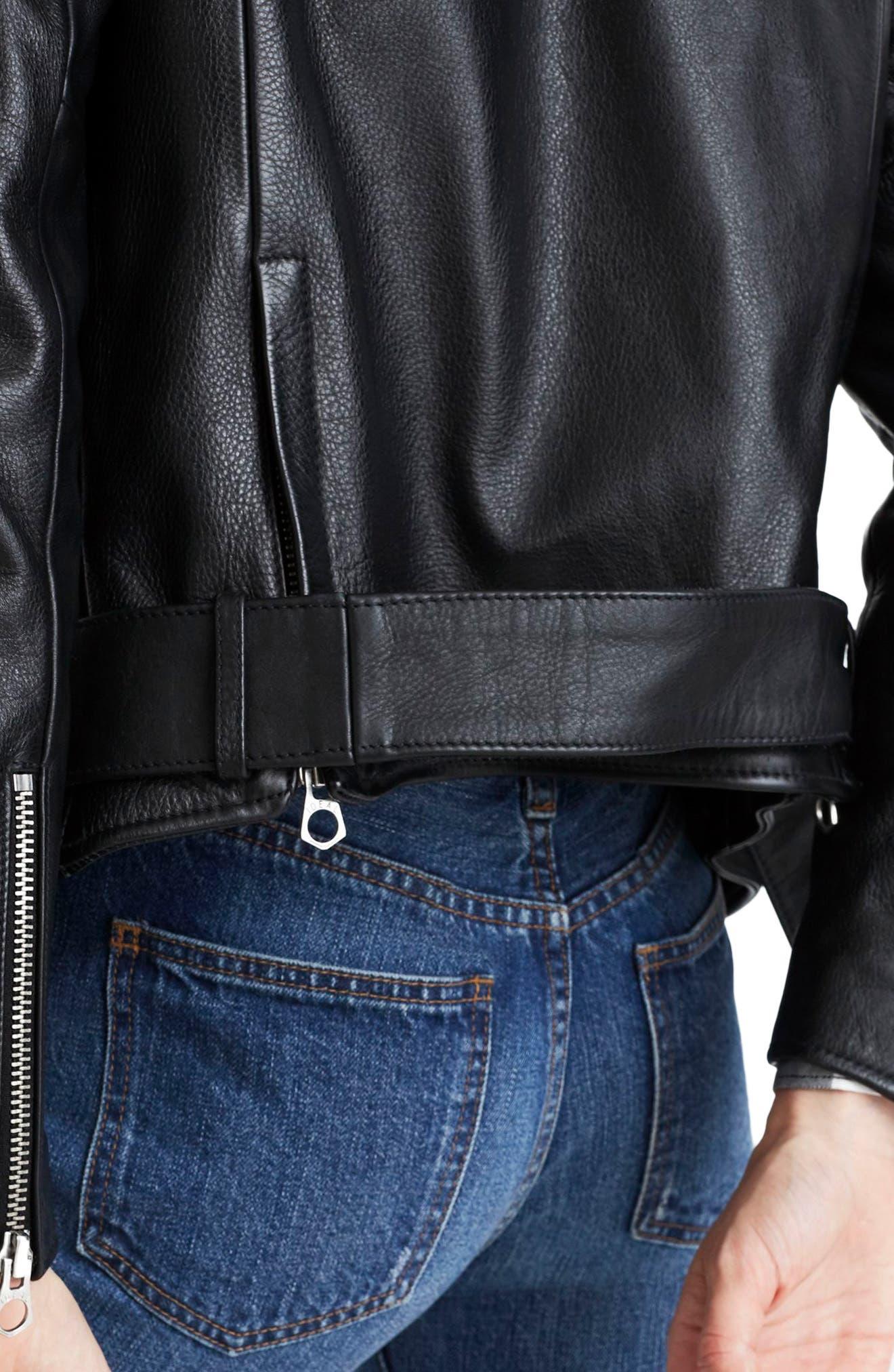 Alternate Image 4  - Madewell Ultimate Leather Jacket
