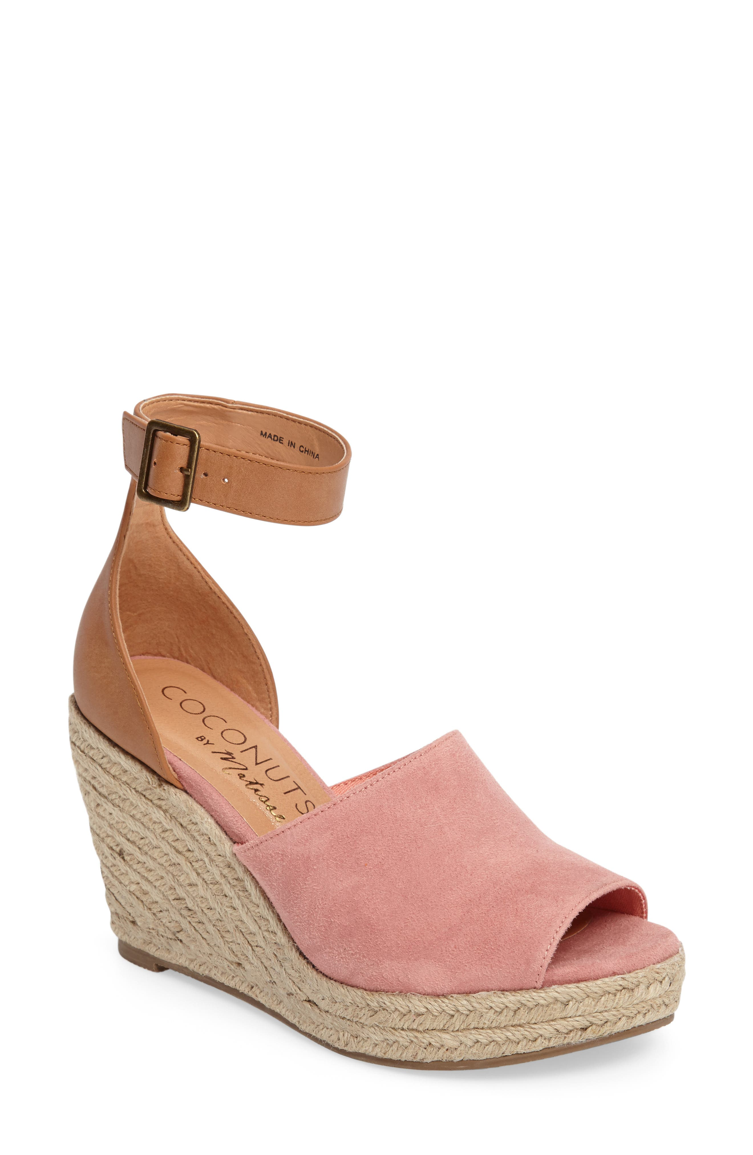 Main Image - Matisse Flamingo Wedge Sandal (Women)