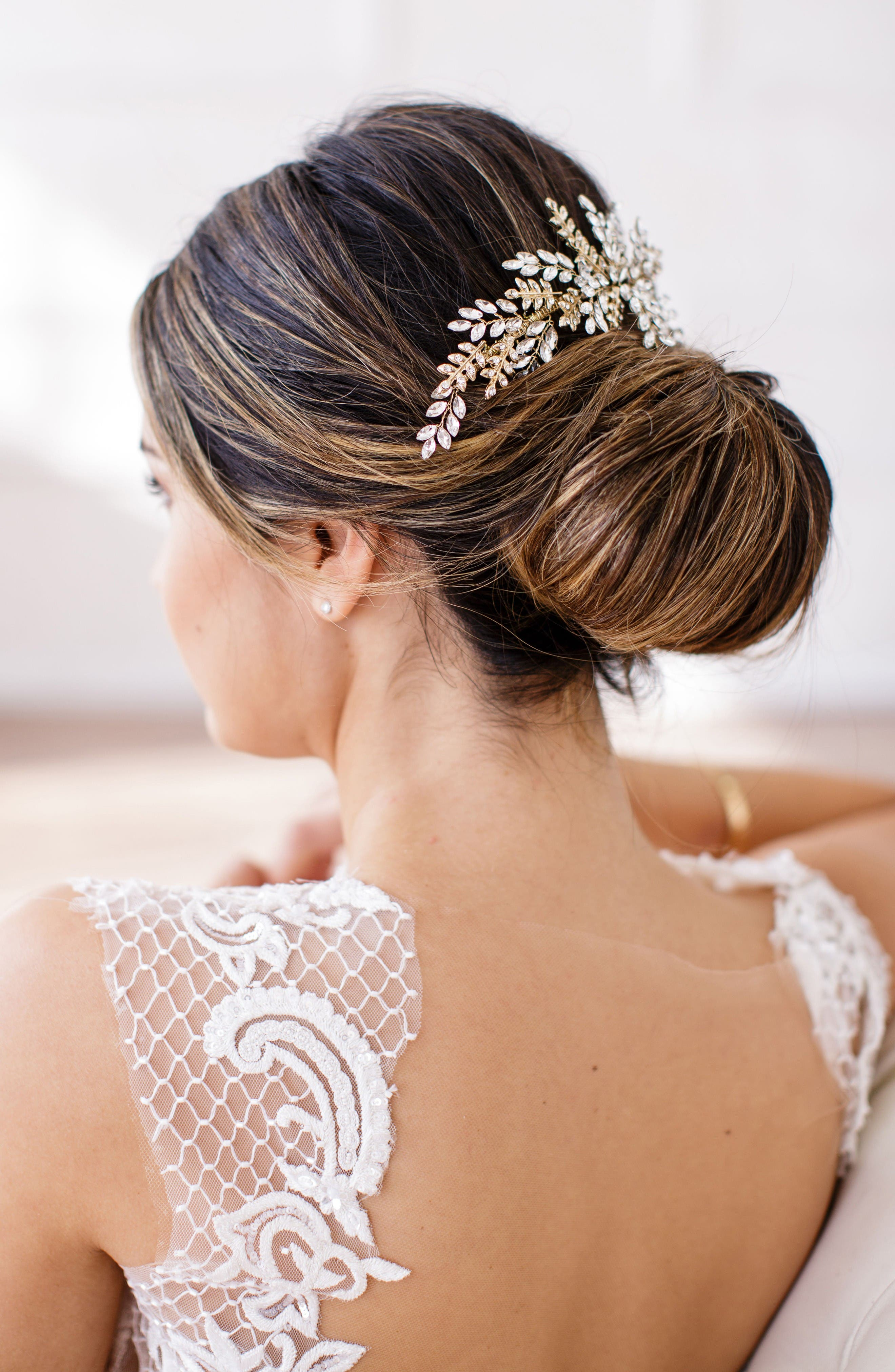 Alternate Image 1 Selected - Brides & Hairpins Serena Crystal Hair Comb
