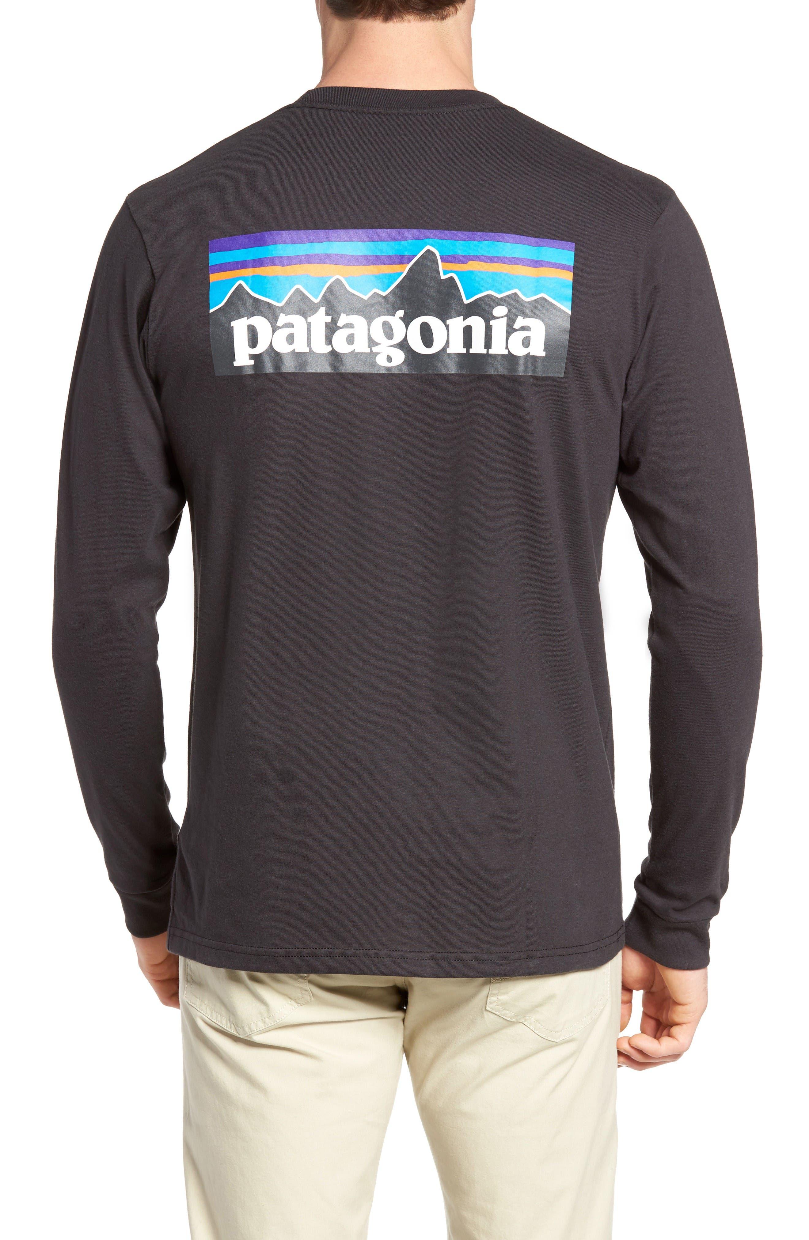Alternate Image 2  - Patagonia P-6 Logo Organic Cotton T-Shirt