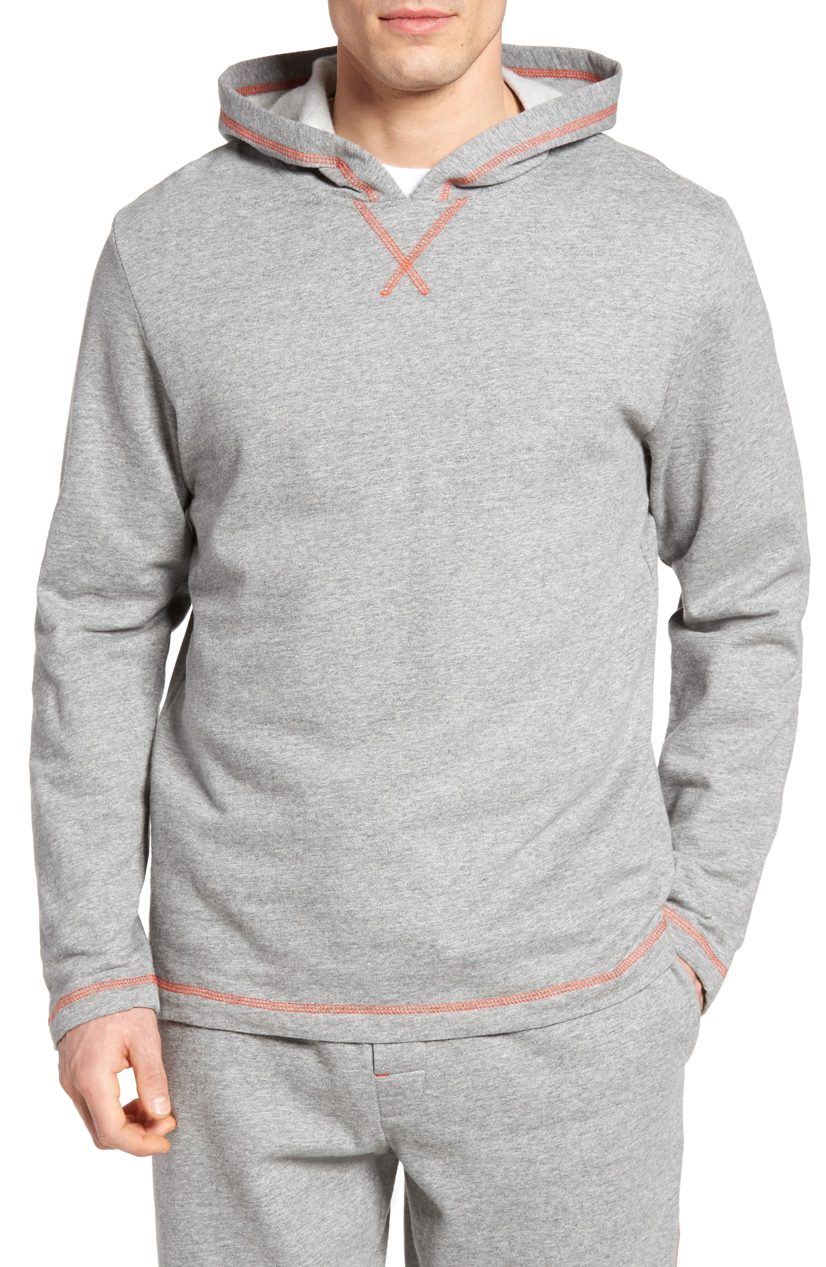 Bhooka Cotton Blend Hoodie,                         Main,                         color, Charcoal Heather