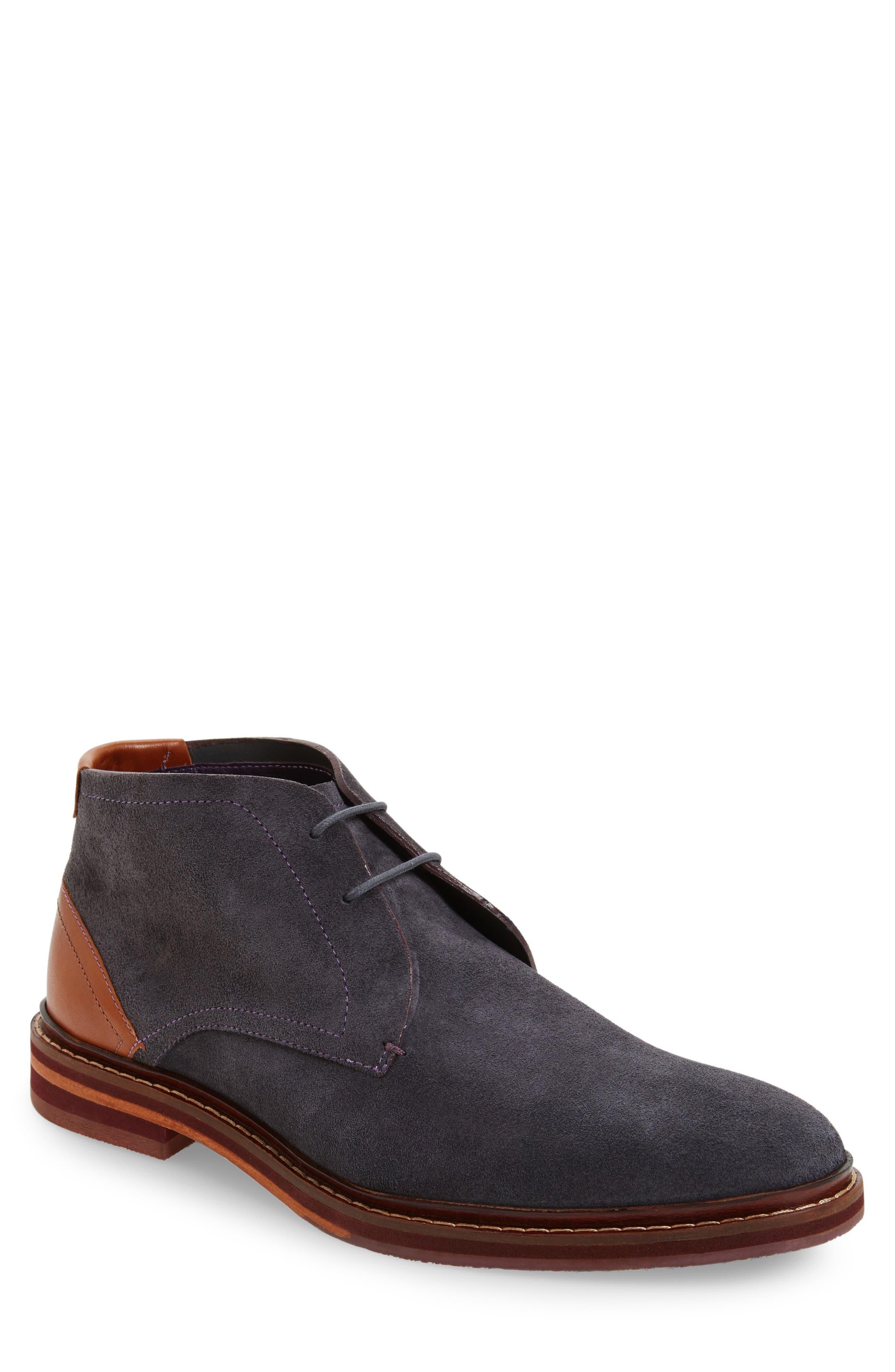 Azzlan Chukka Boot,                         Main,                         color, Grey Suede