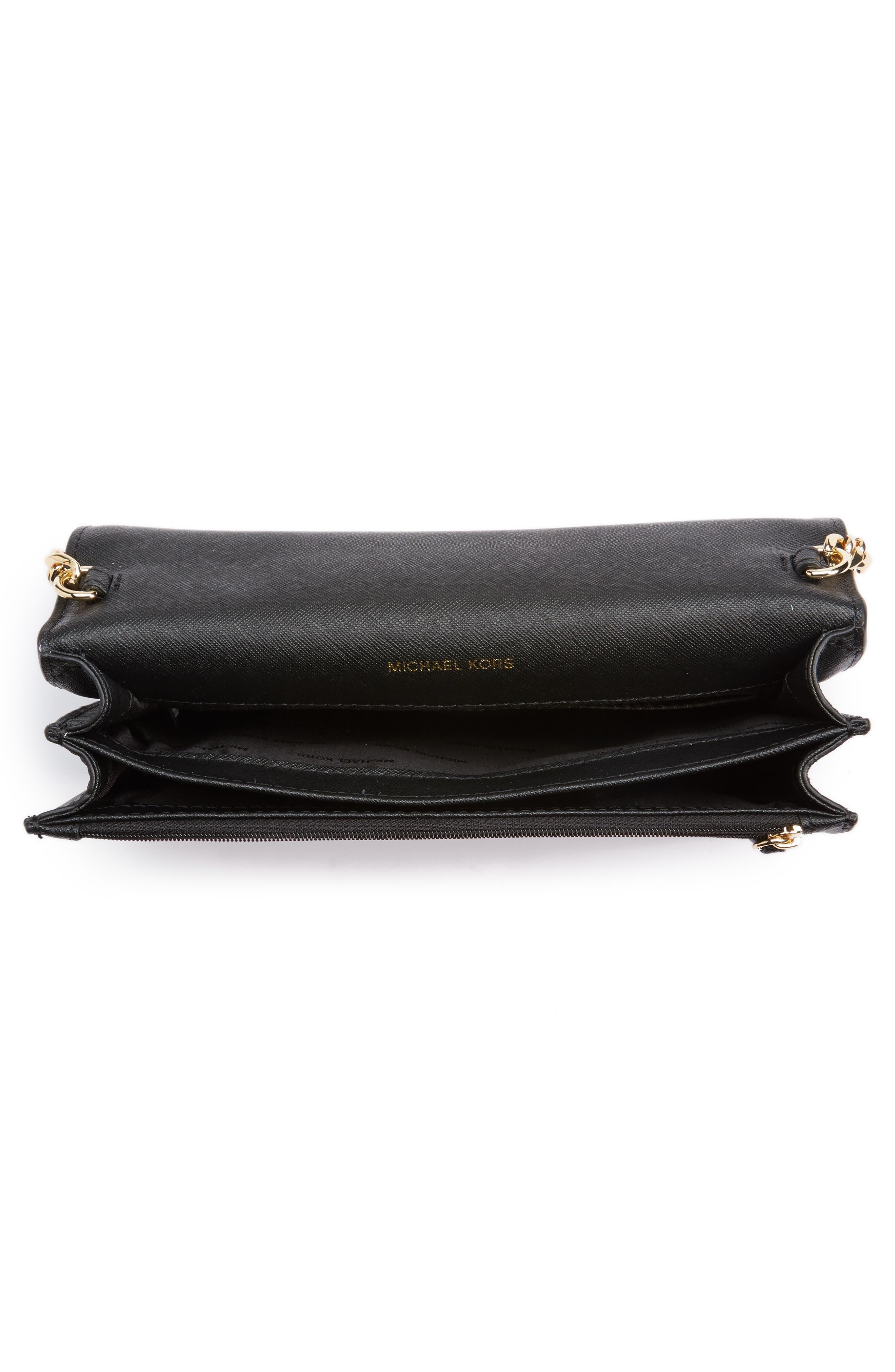 Alternate Image 4  - MICHAEL Michael Kors Large Daniela Leather Crossbody Bag