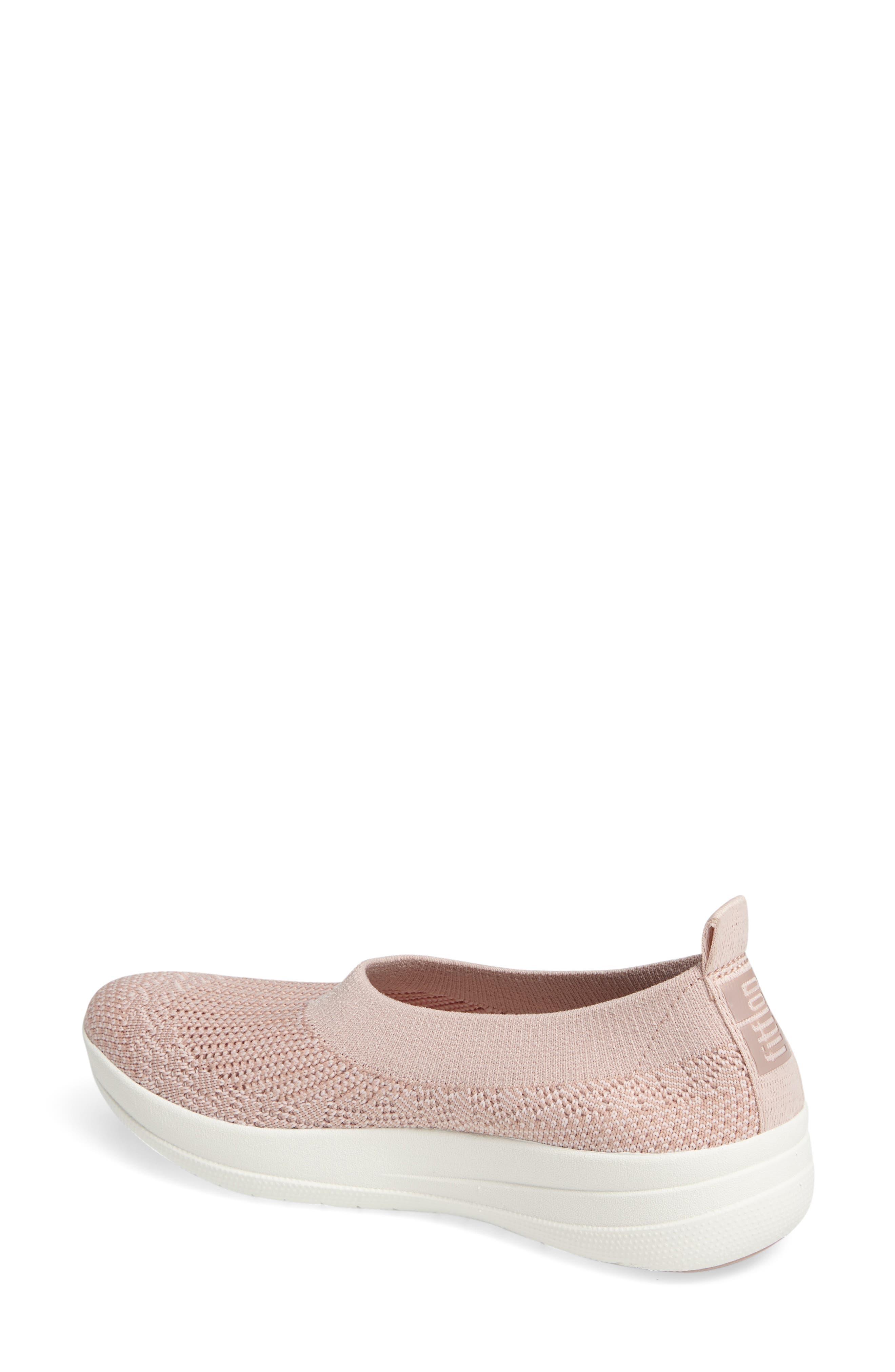 Alternate Image 2  - FitFlop Uberknit Slip-On Sneaker (Women)