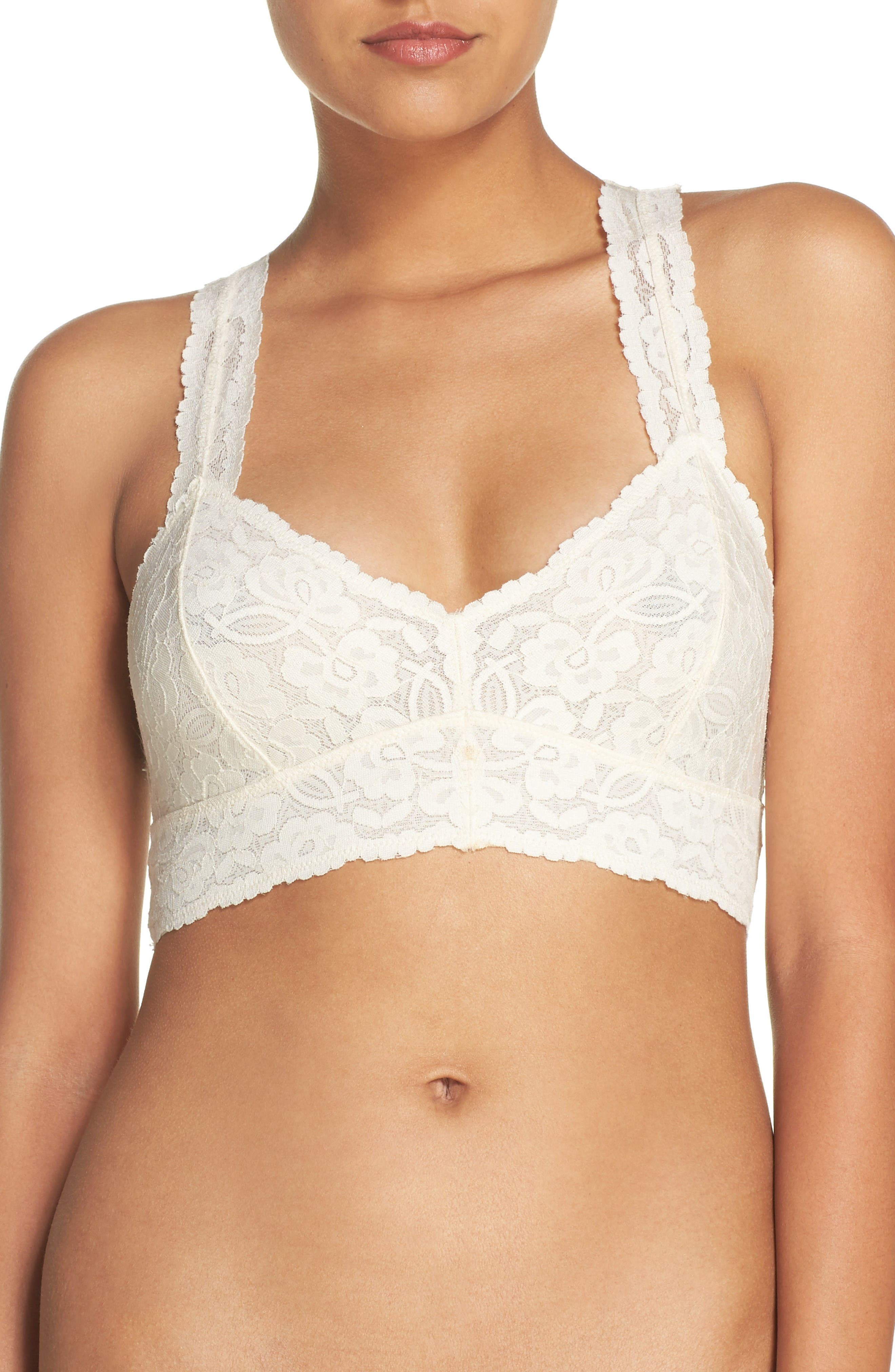 Free People Intimately Lace Racerback Bralette