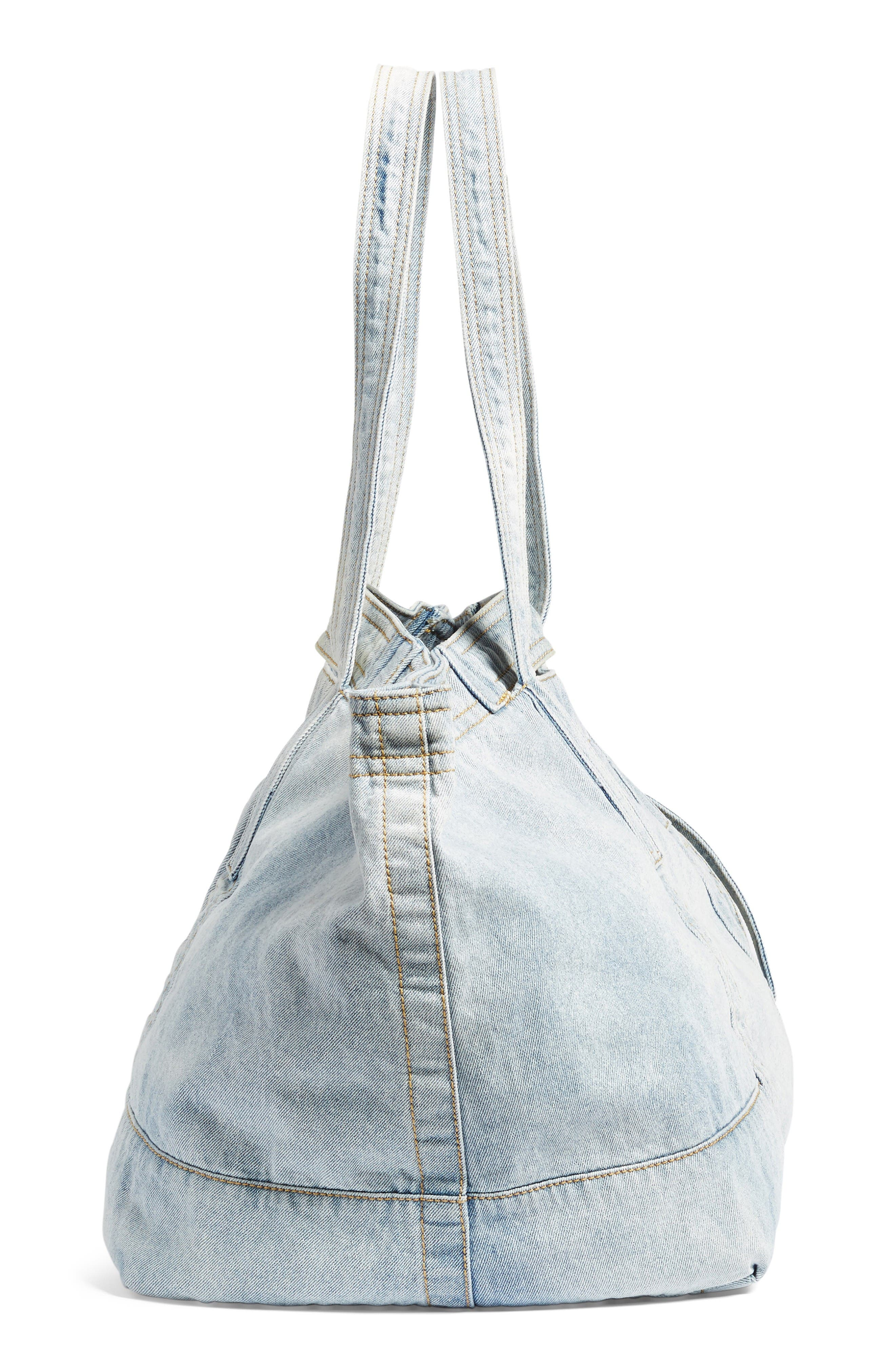 Field Tote,                             Alternate thumbnail 4, color,                             Light Blue