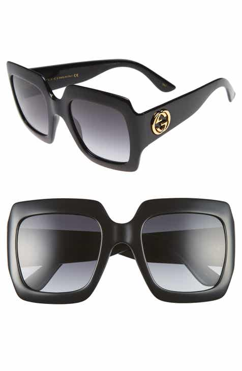 f5ee9eab7f6 Gucci 54mm Square Sunglasses