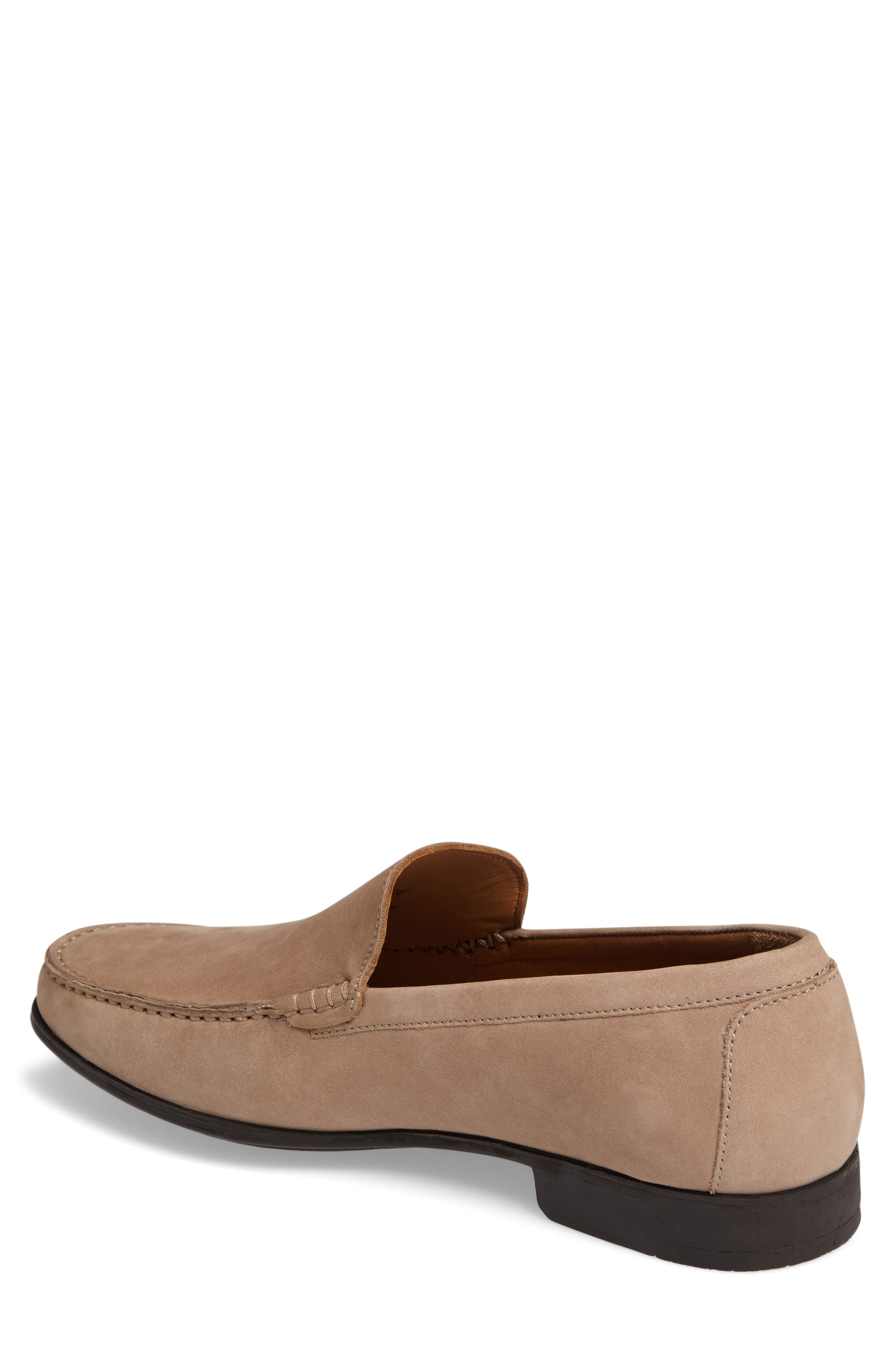 Cresswell Venetian Loafer,                             Alternate thumbnail 2, color,                             Sand Nubuck Leather