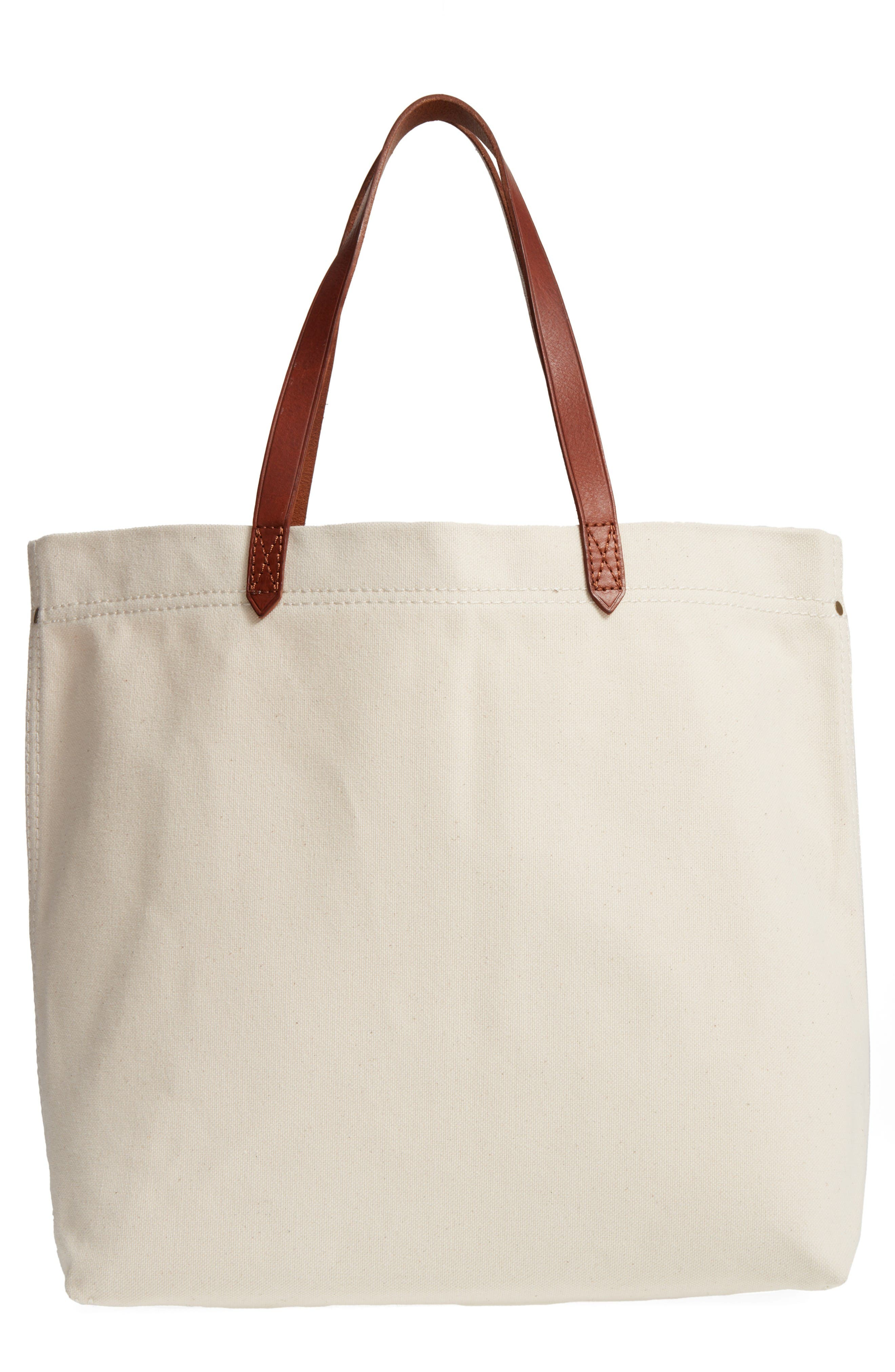 Alternate Image 1 Selected - Madewell Canvas Transport Tote