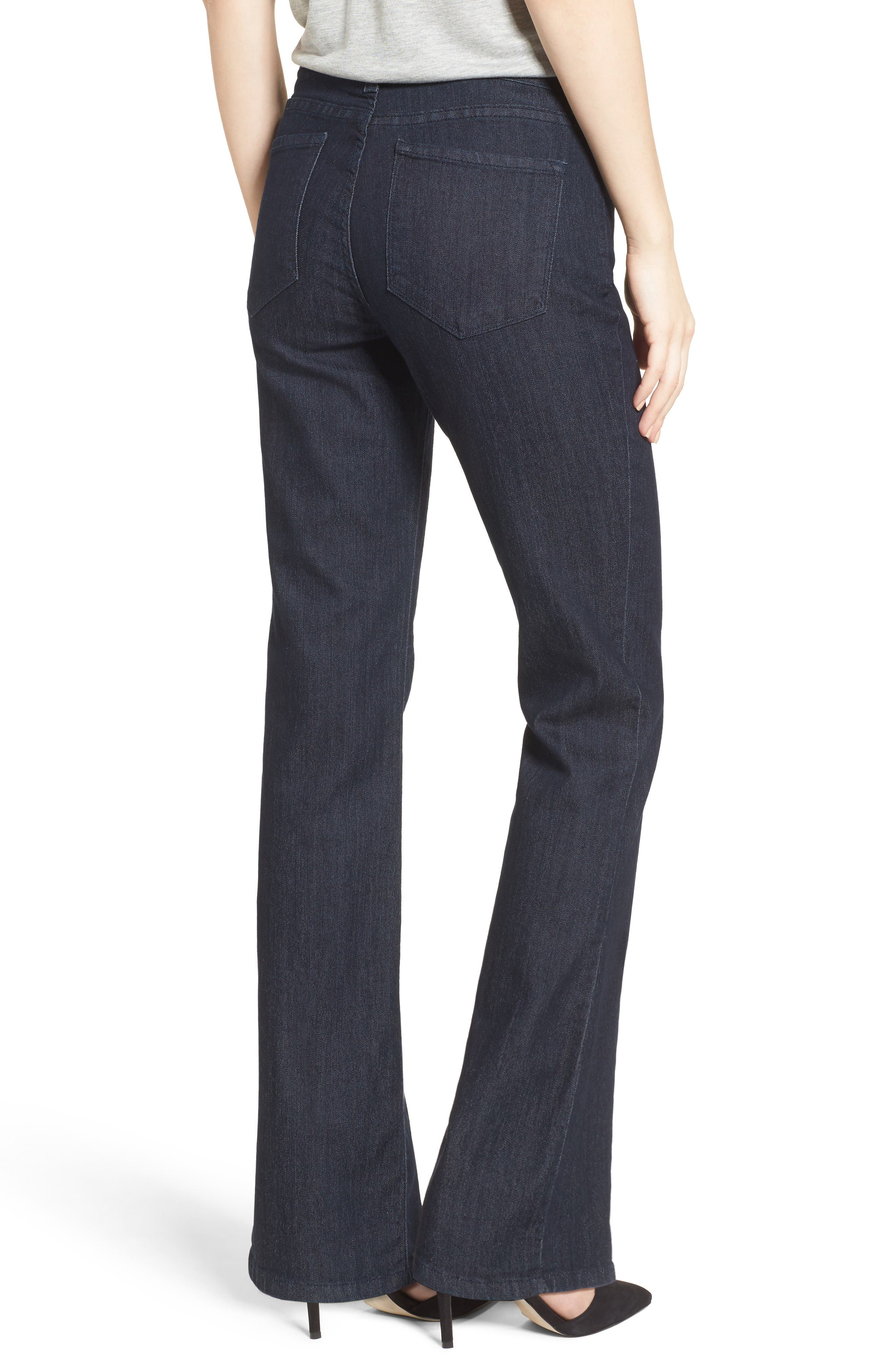 Barbara Stretch Bootcut Jeans,                             Alternate thumbnail 3, color,                             Denim