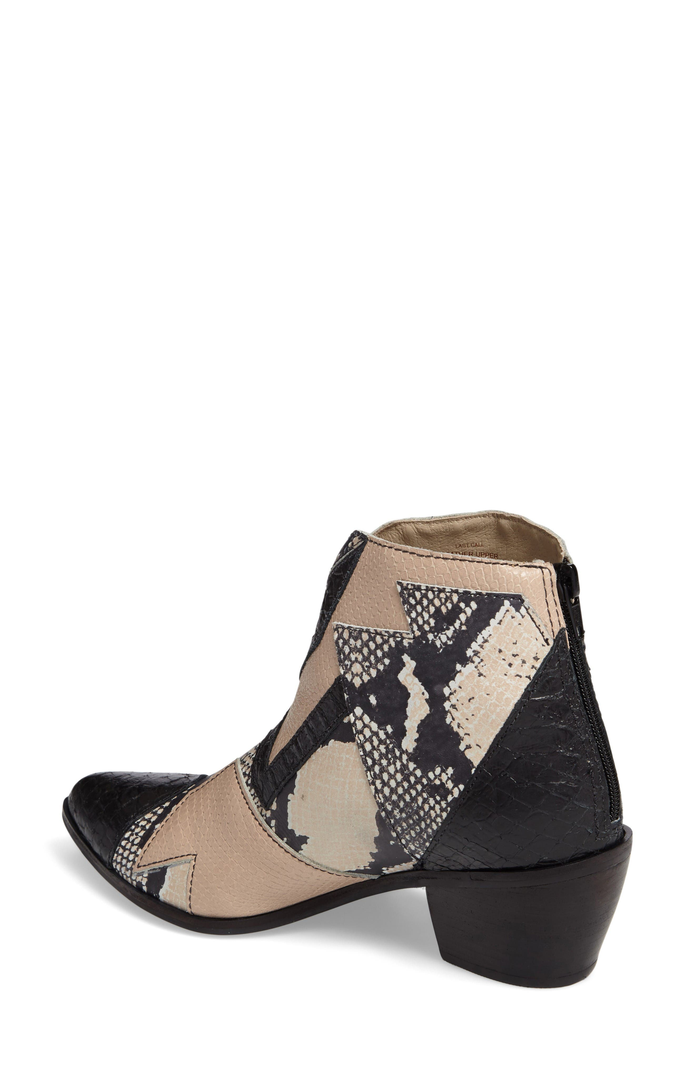 Alternate Image 2  - Amuse Society x Matisse Last Call Patchwork Bootie (Women)
