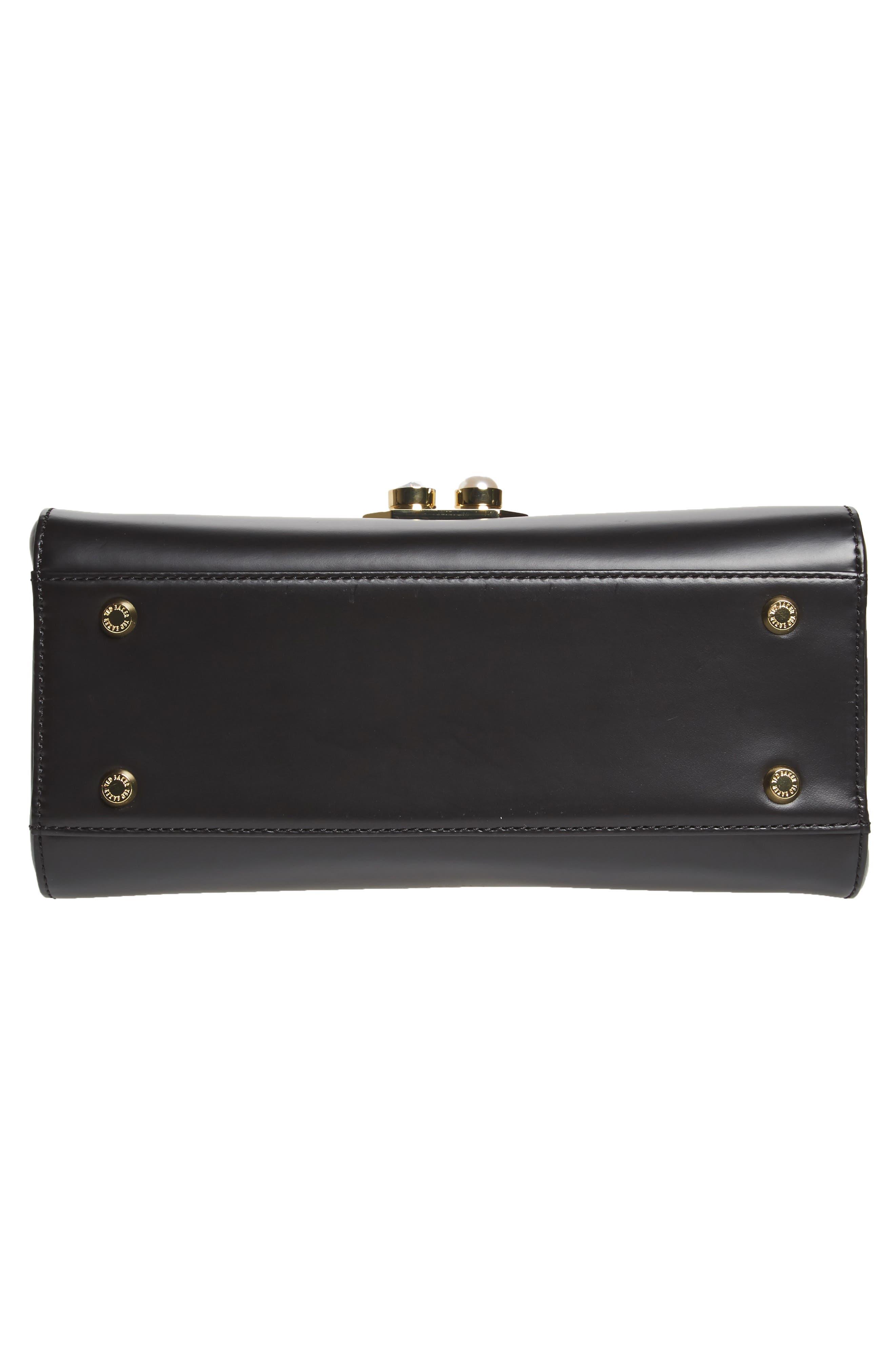 Alternate Image 6  - Ted Baker London Leather Top Handle Satchel