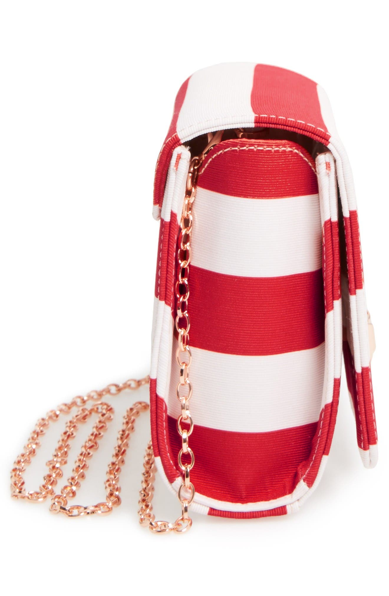 Alternate Image 5  - Ted Baker London Pier Stripe Clutch