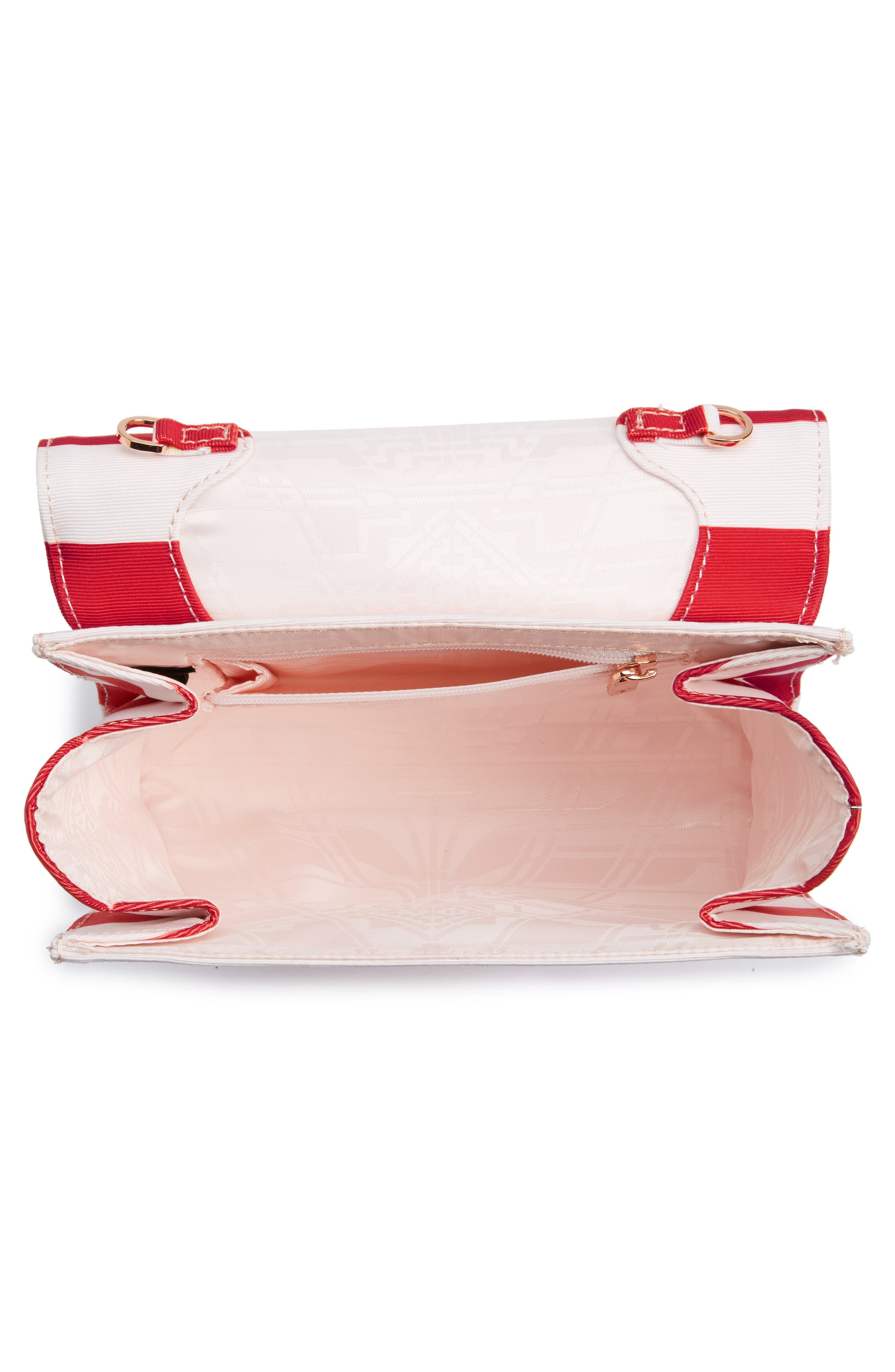 Alternate Image 4  - Ted Baker London Pier Stripe Clutch